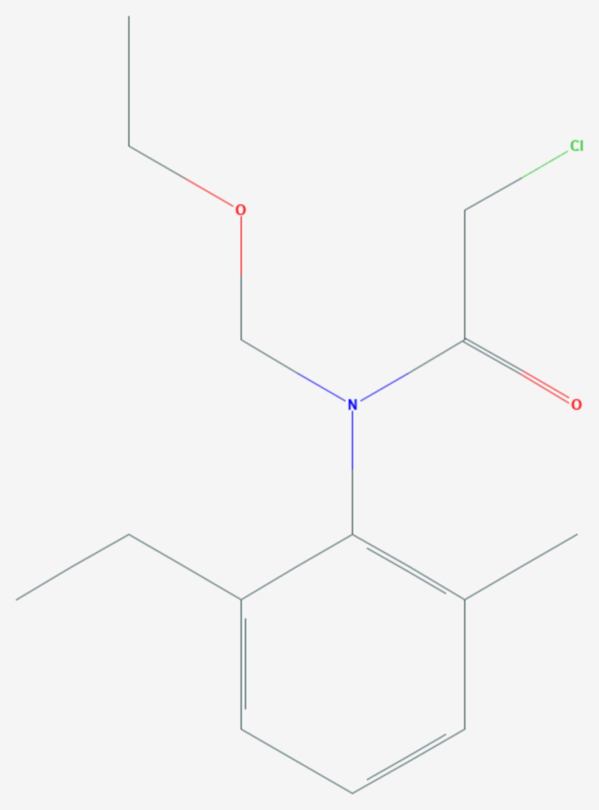 Acetochlor (Strukturformel)