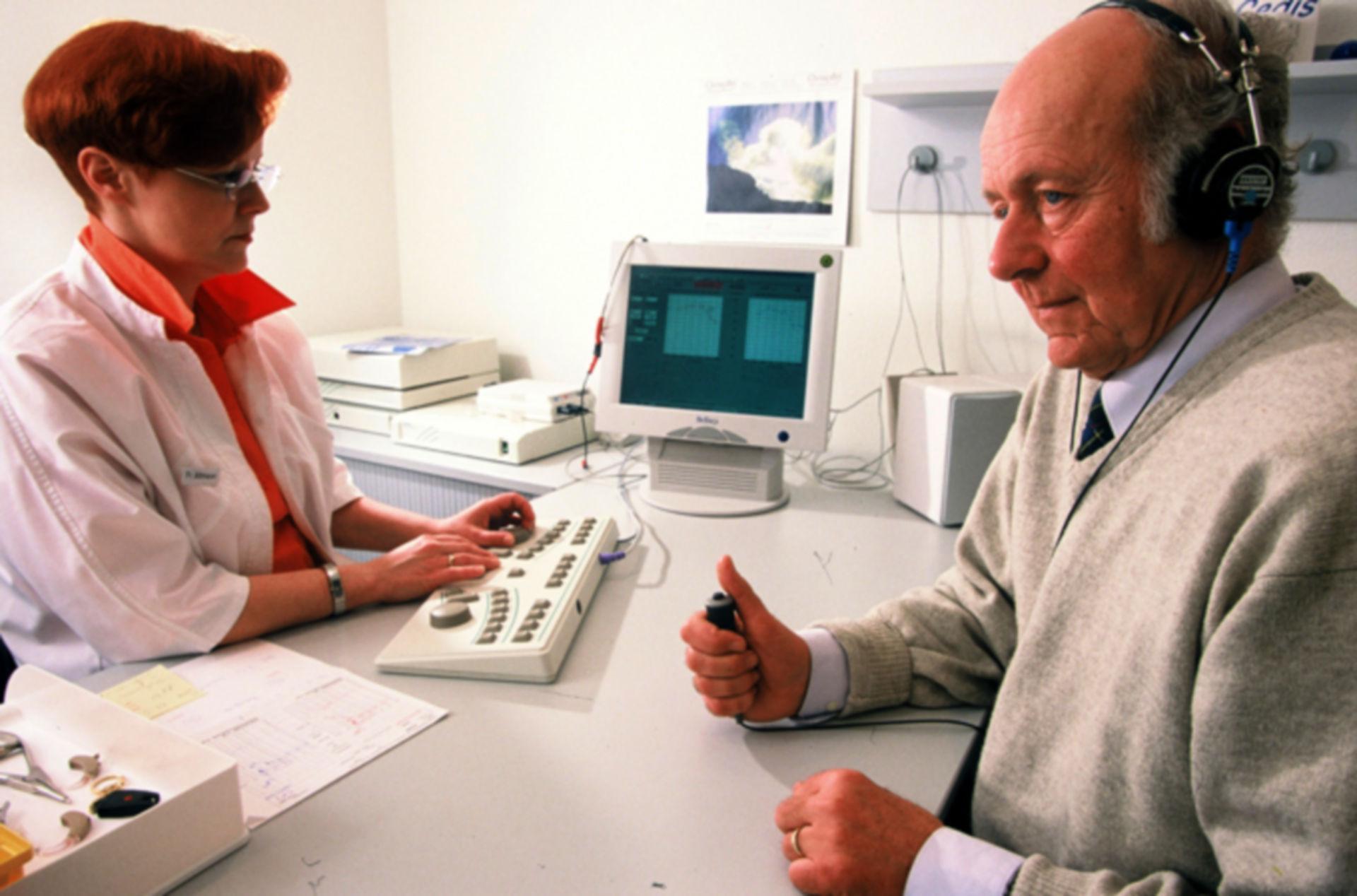 Tinnitus - hearing test