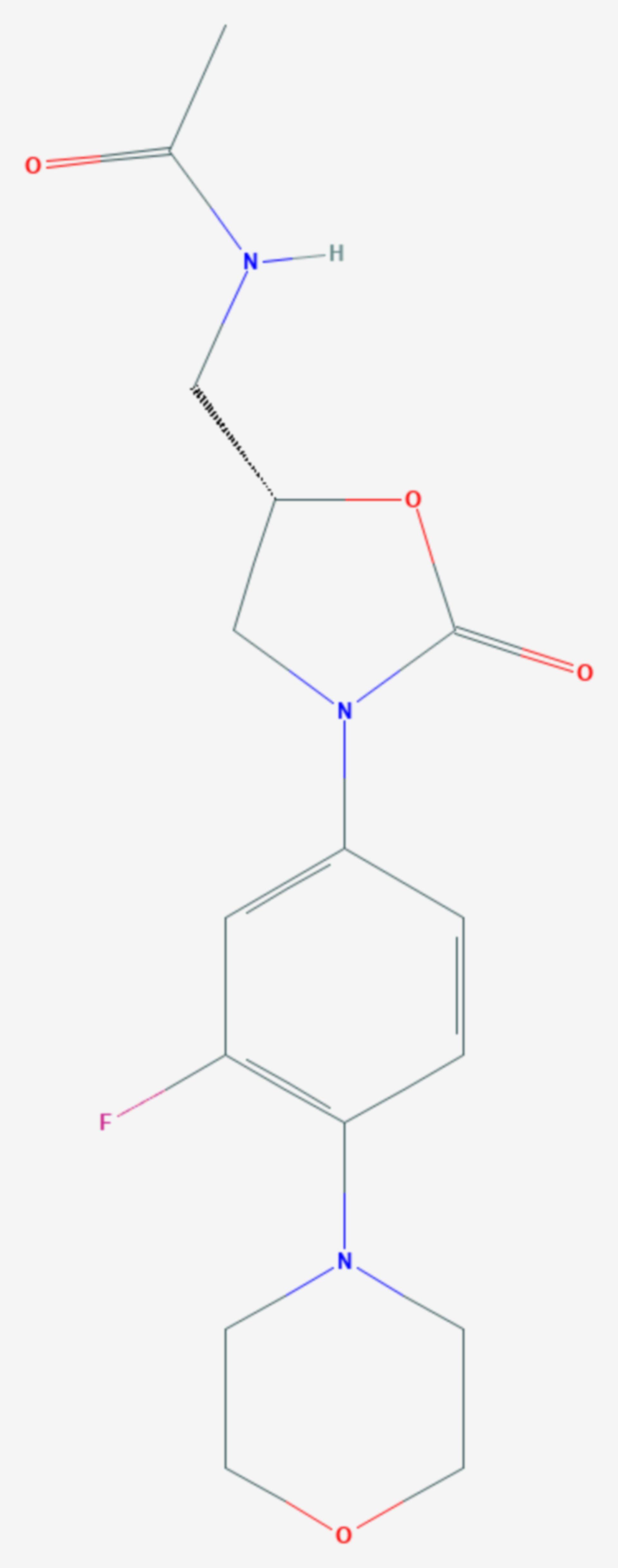 Tedizolid (Strukturformel)
