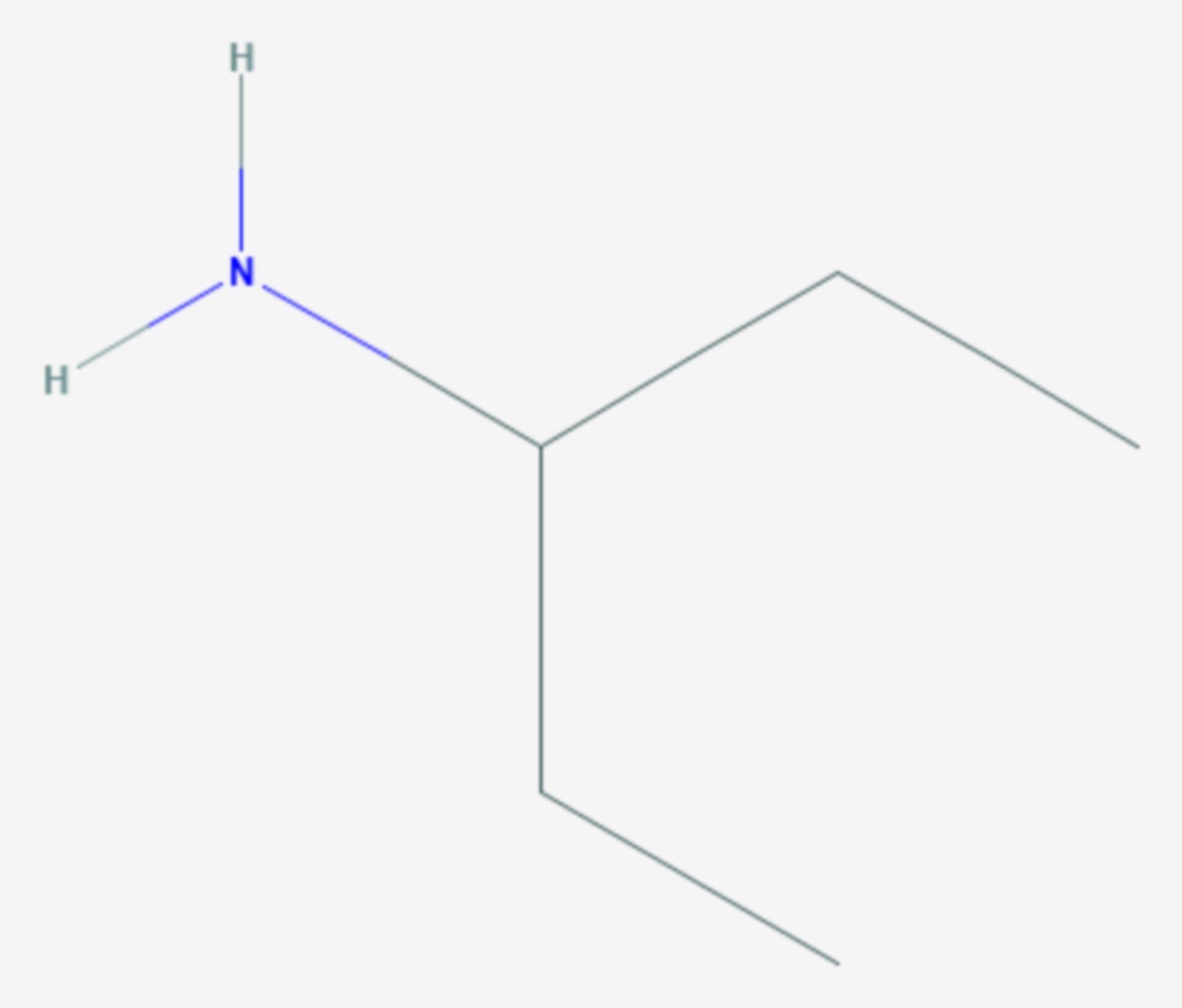 3-Pentylamin (Strukturformel)