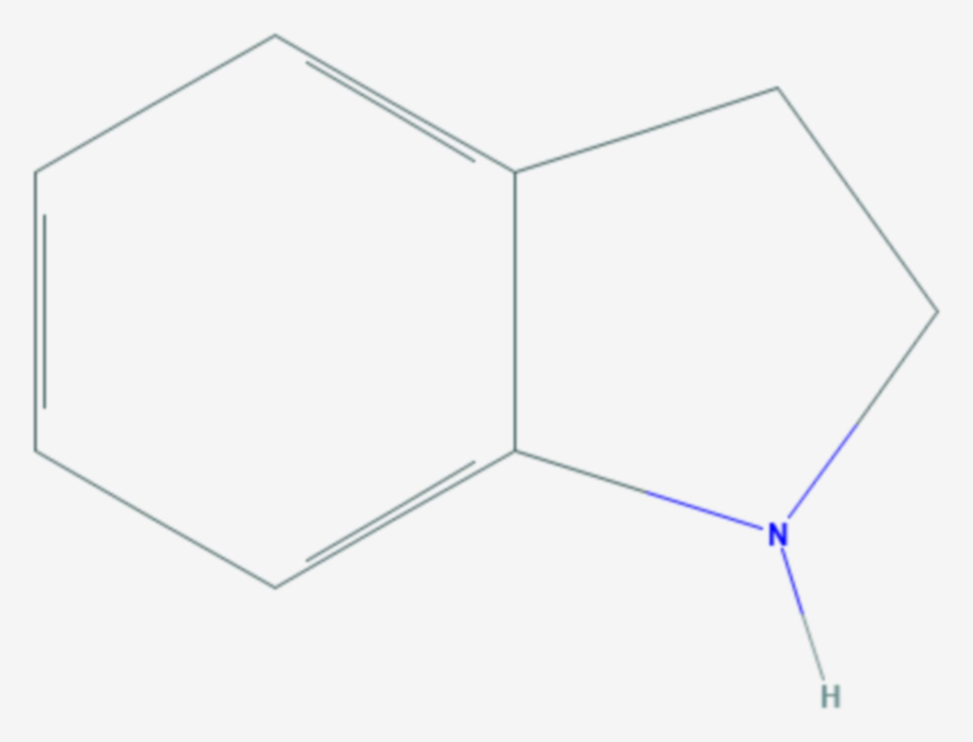 Indolin (Strukturformel)