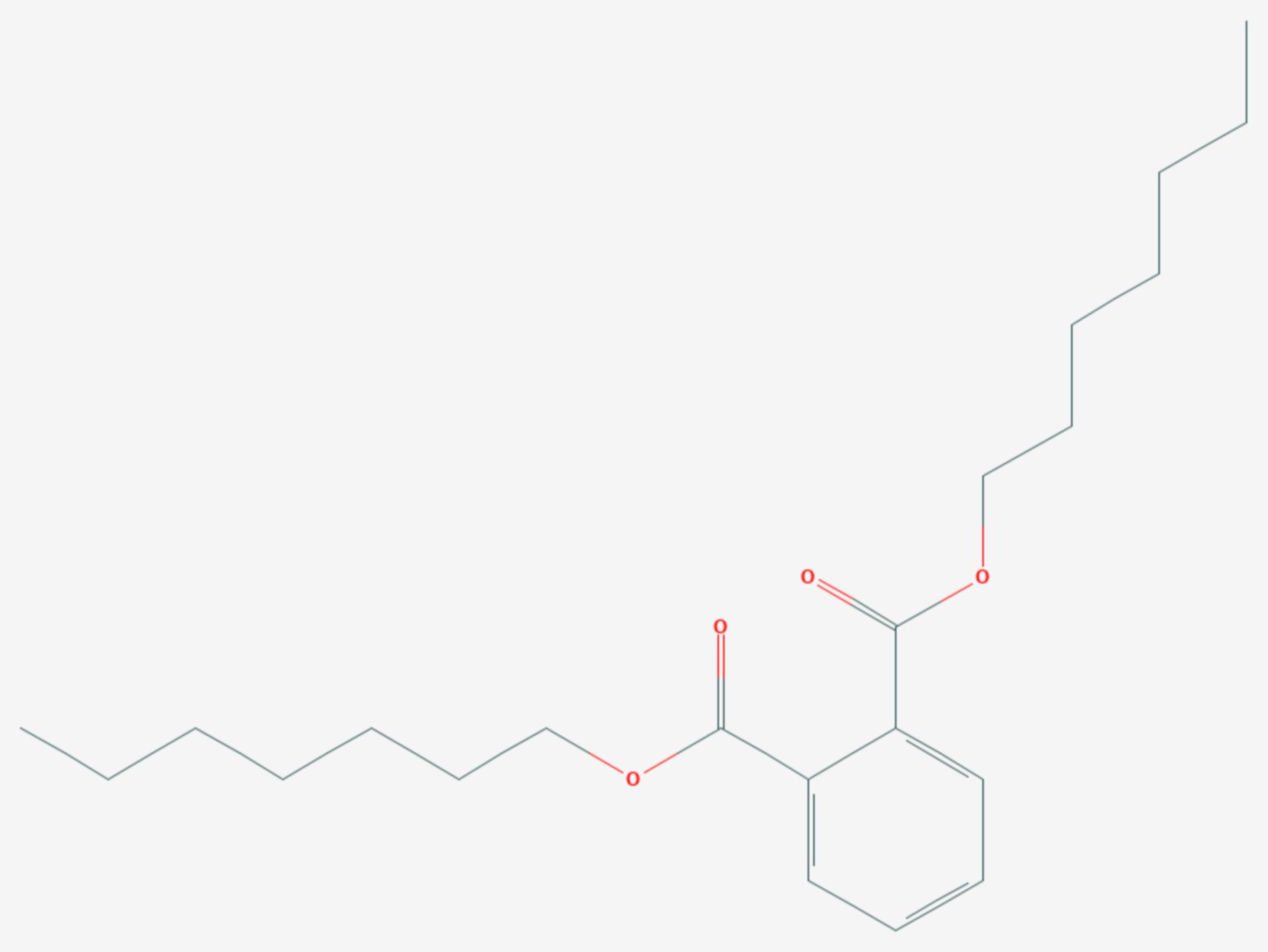 Diheptylphthalat (Strukturformel)