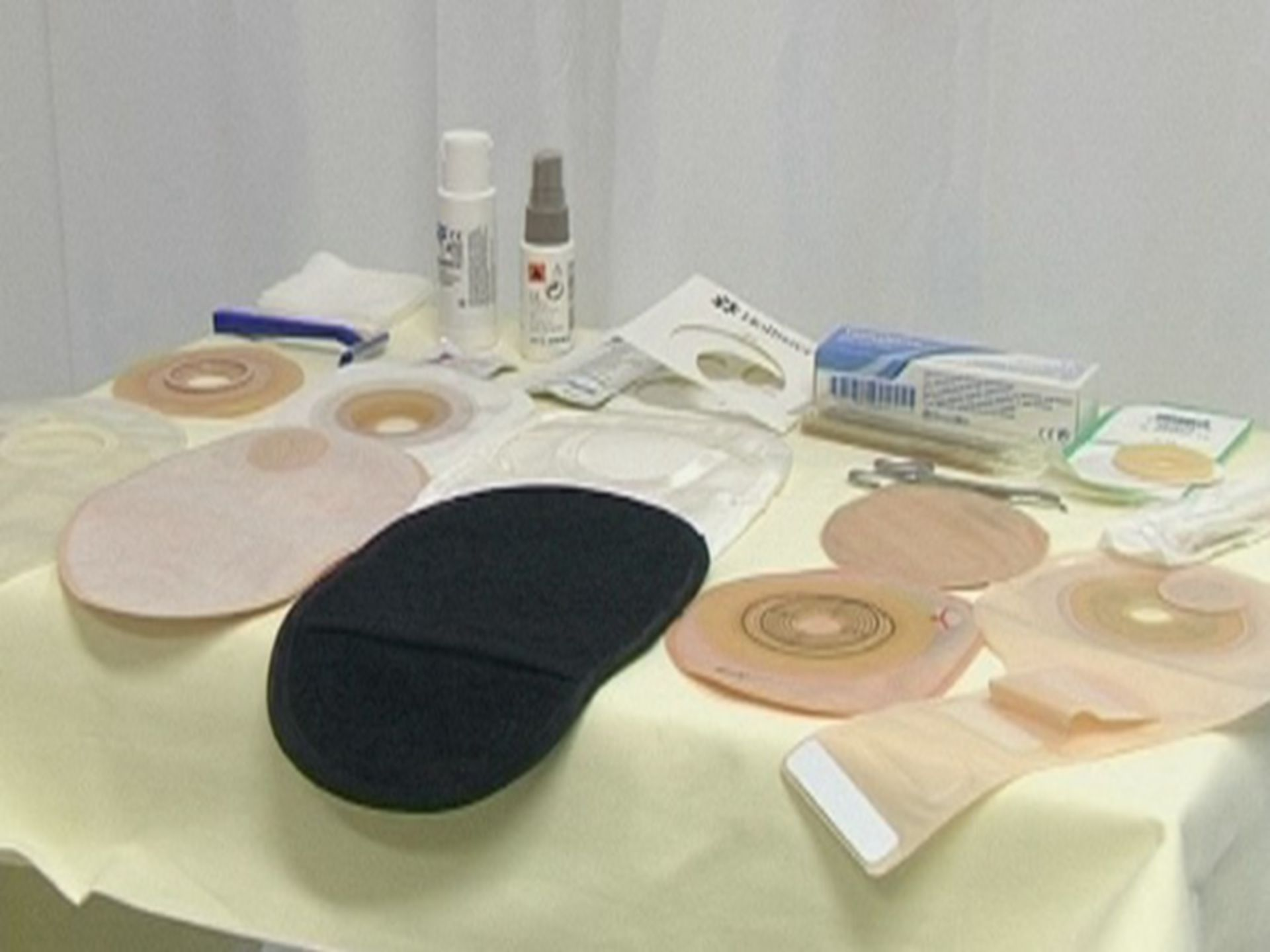 Materials for the provision of a stoma