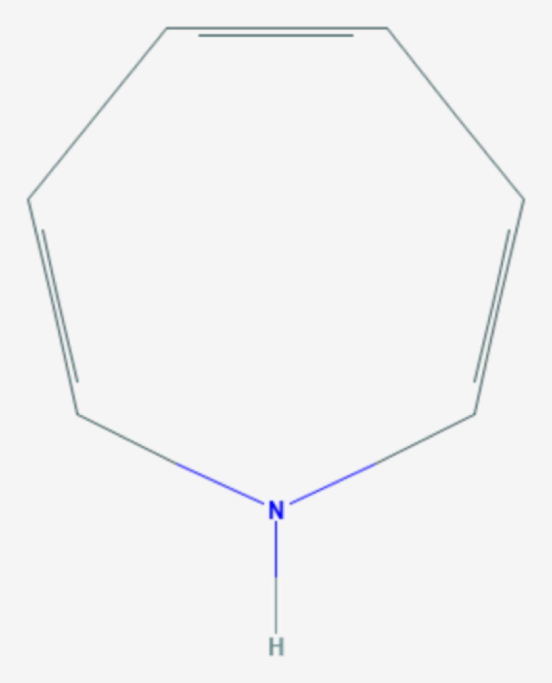 1H-Azepin (Strukturformel)