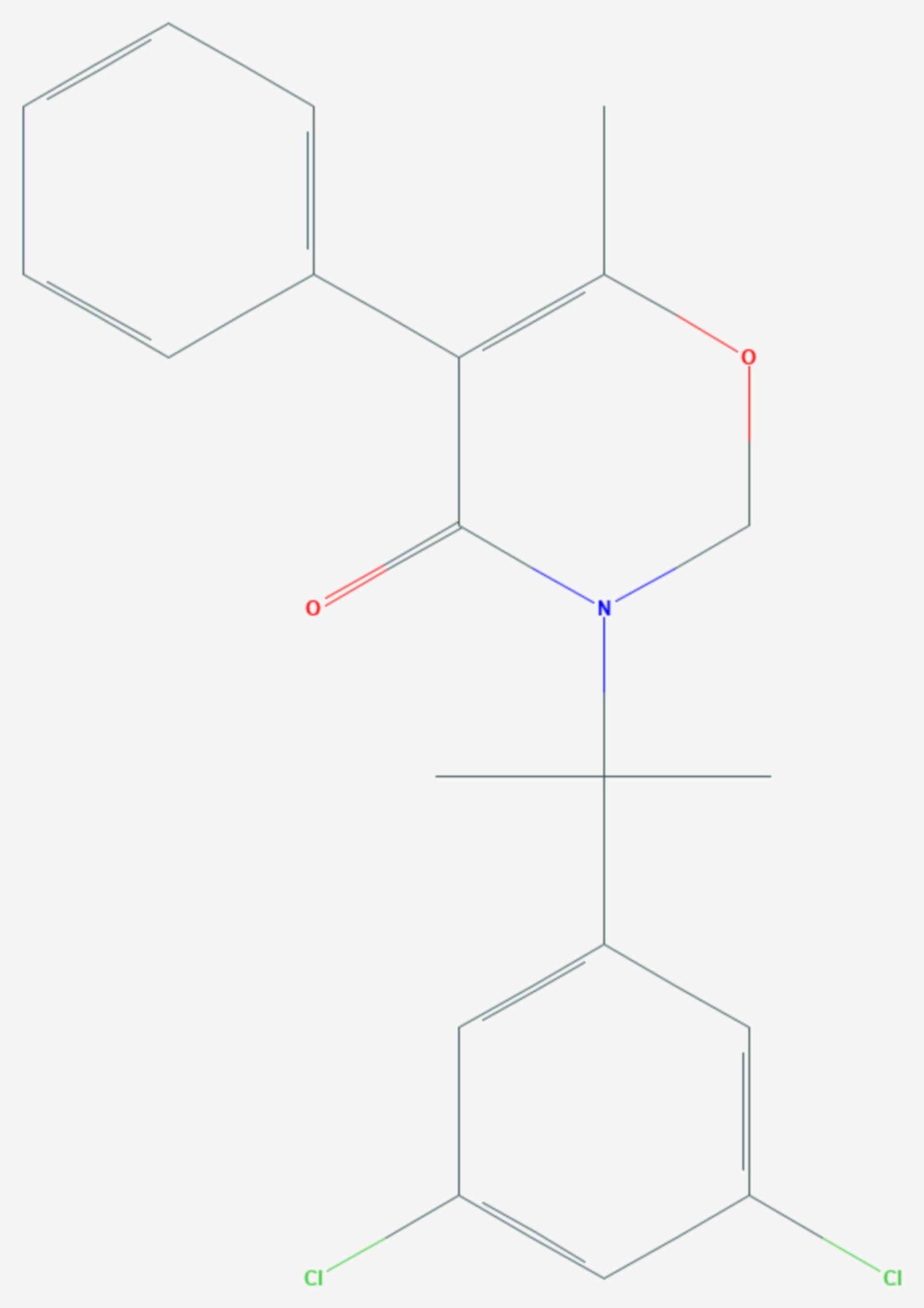 Oxaziclomefon (Strukturformel)