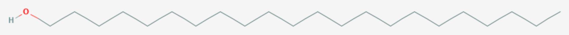 1-Docosanol (Strukturformel)
