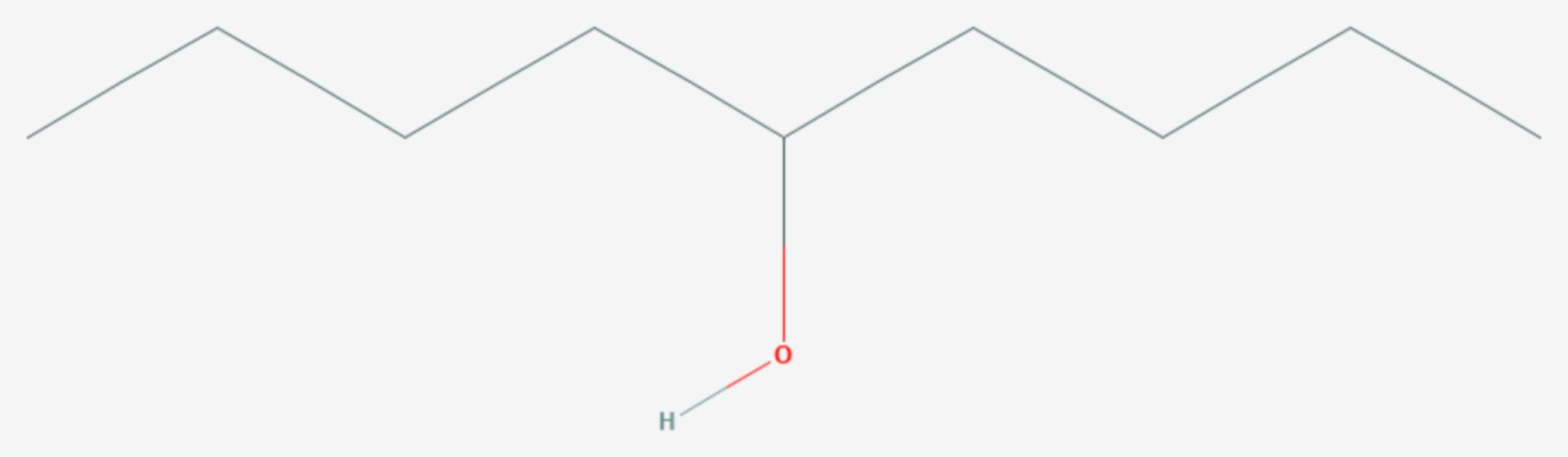 5-Nonanol (Strukturformel)