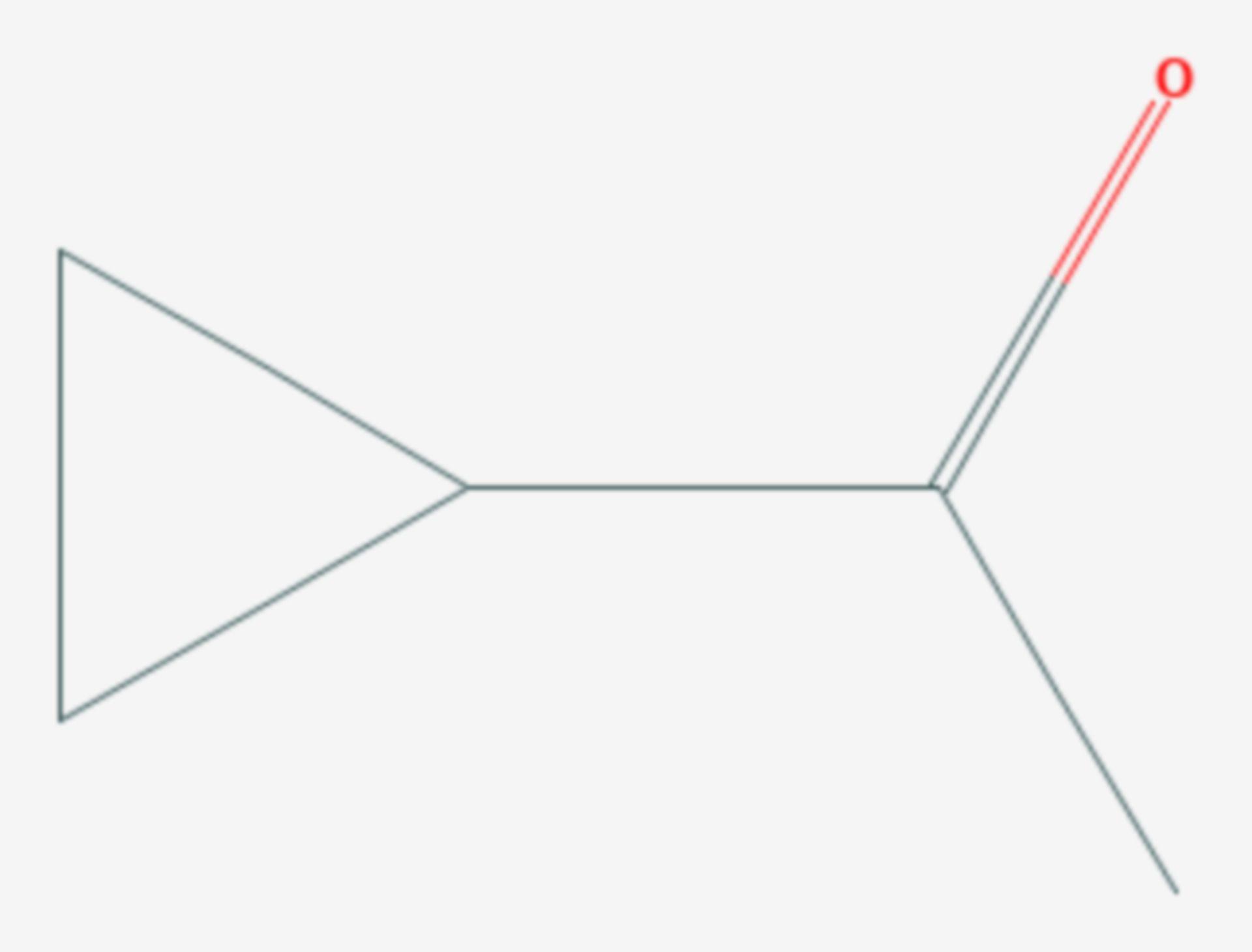 Cyclopropylmethylketon (Strukturformel)