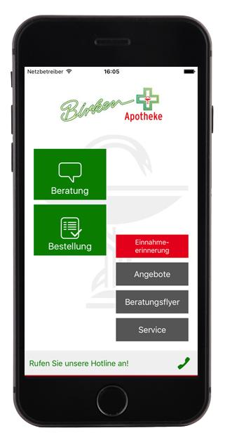 Die App der Birken Apotheke Birken Apotheke
