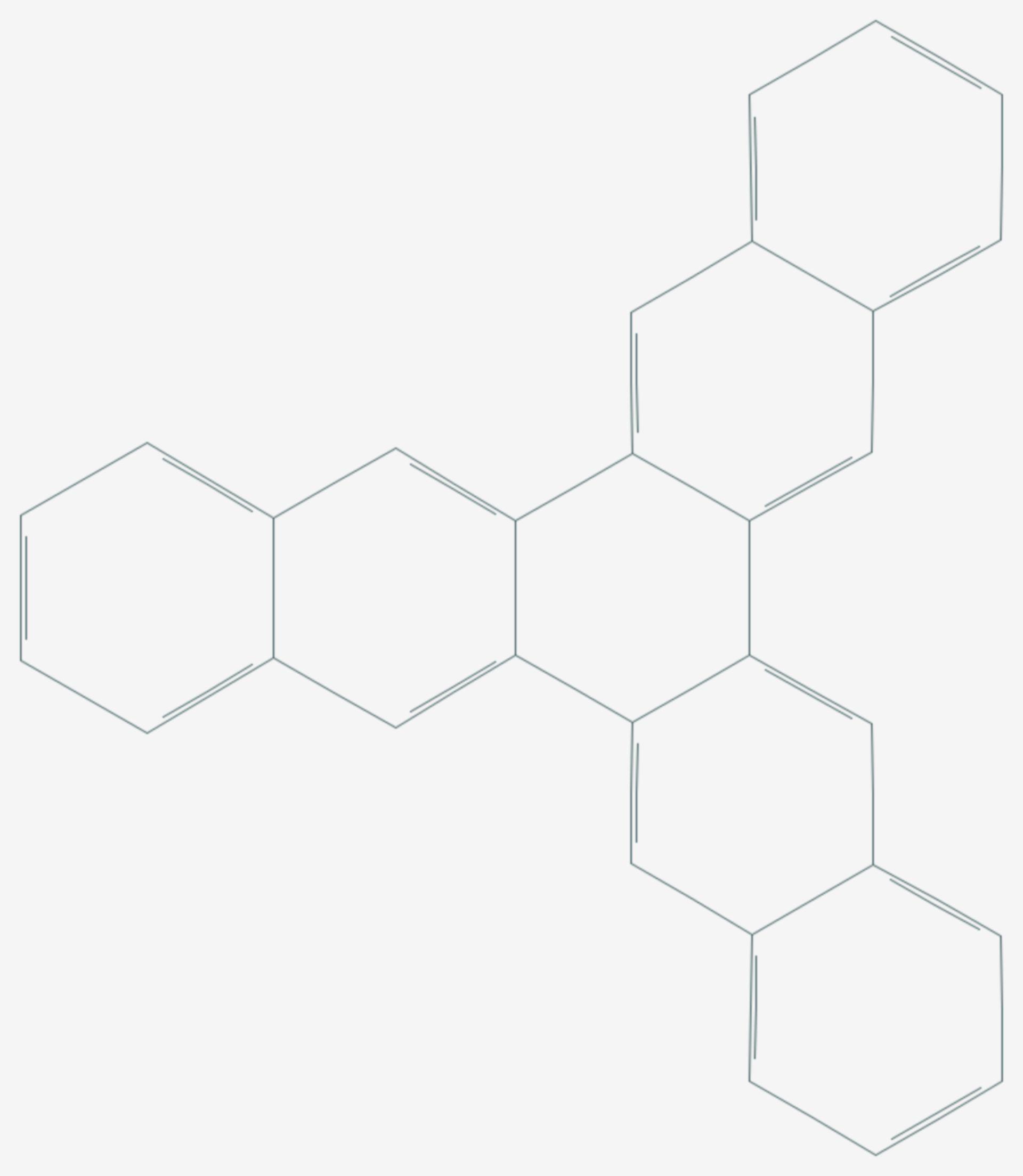 Trinaphthylen (Strukturformel)