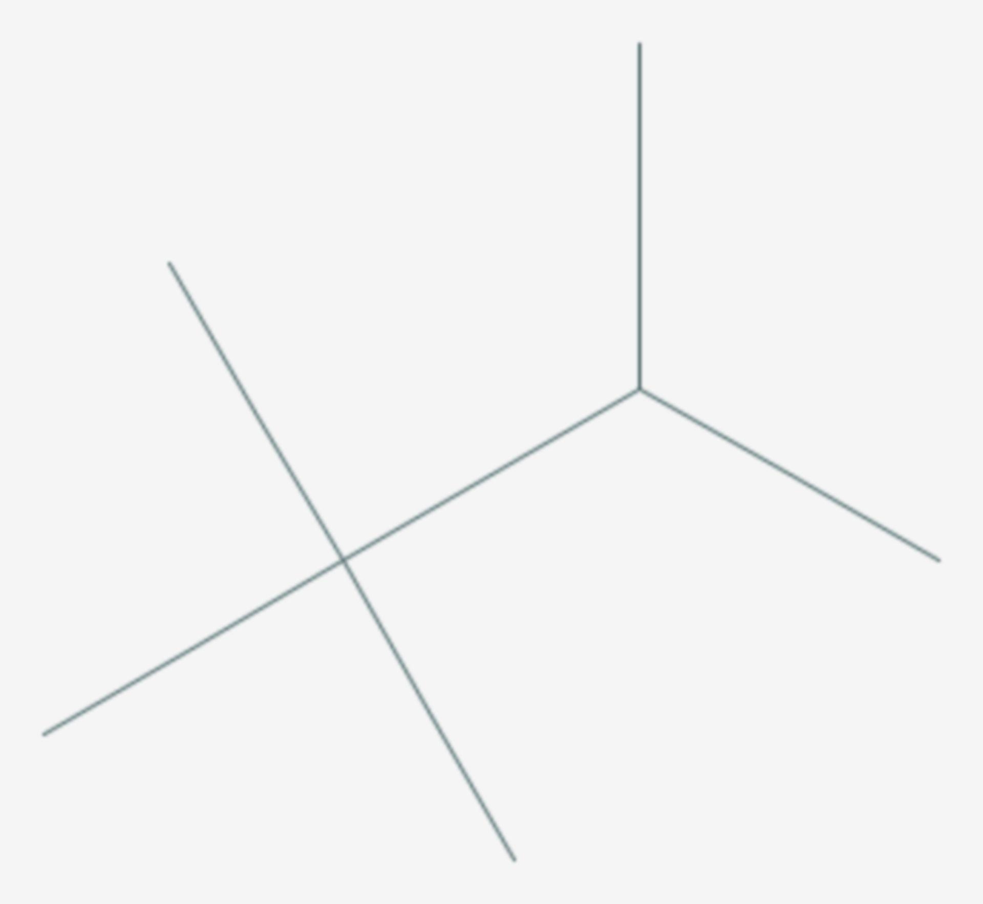 2,2,3-Trimethylbutan (Strukturformel)