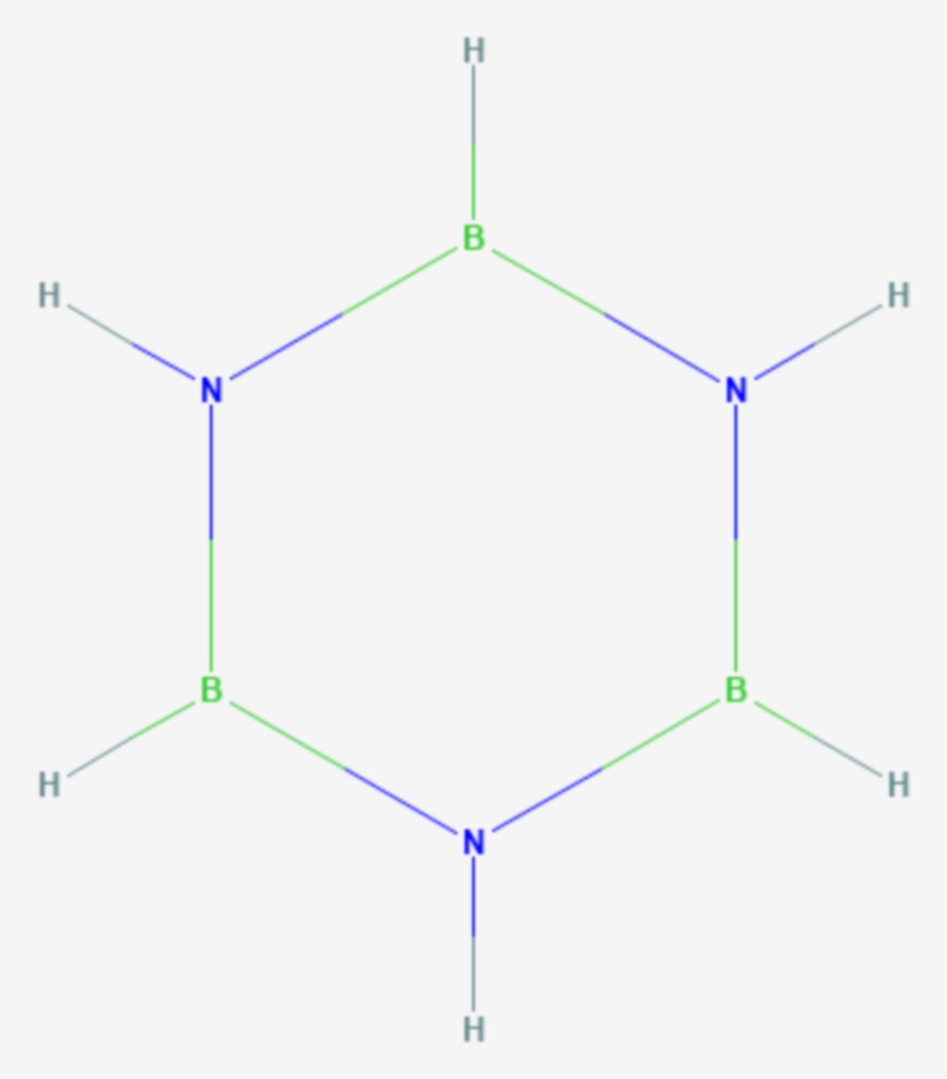 Borazin (Strukturformel)