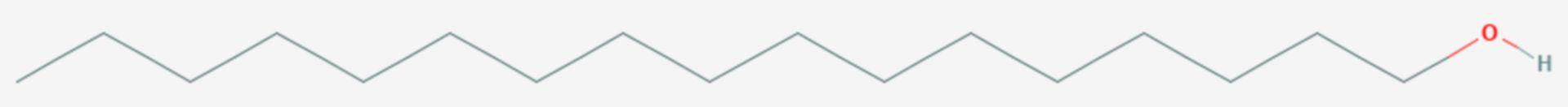 1-Heptadecanol (Strukturformel)