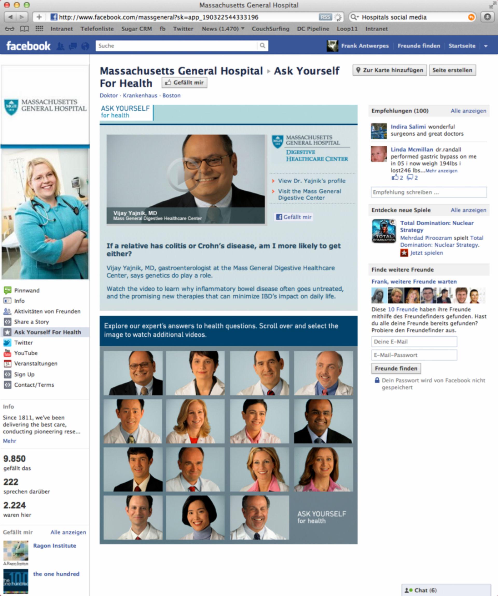 MassGeneral Hospital Facebook