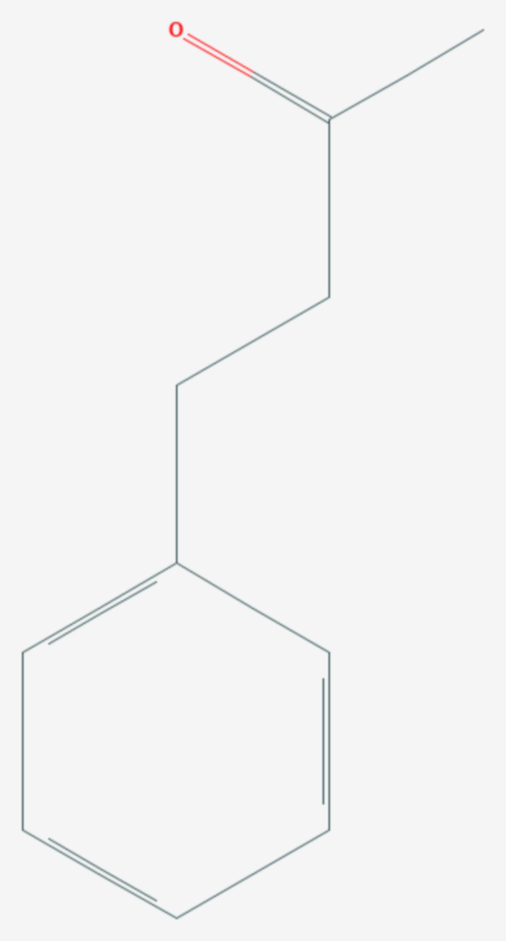Benzylaceton (Strukturformel)