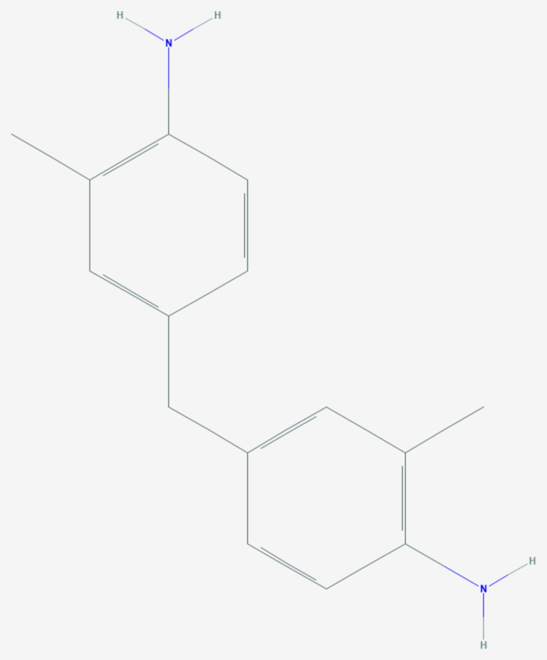 4,4′-Methylendi-o-toluidin (Strukturformel)