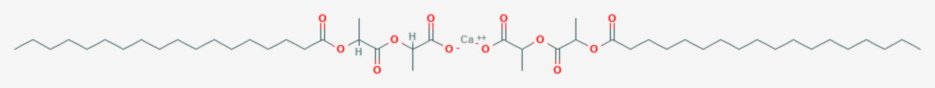 Calciumstearoyl-2-lactylat (Strukturformel)