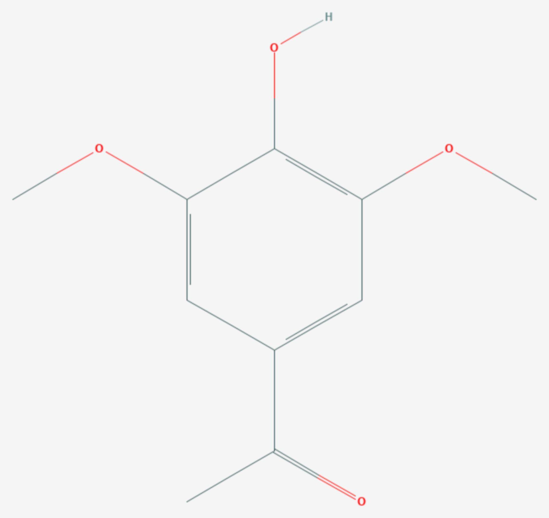 Acetosyringon (Strukturformel)