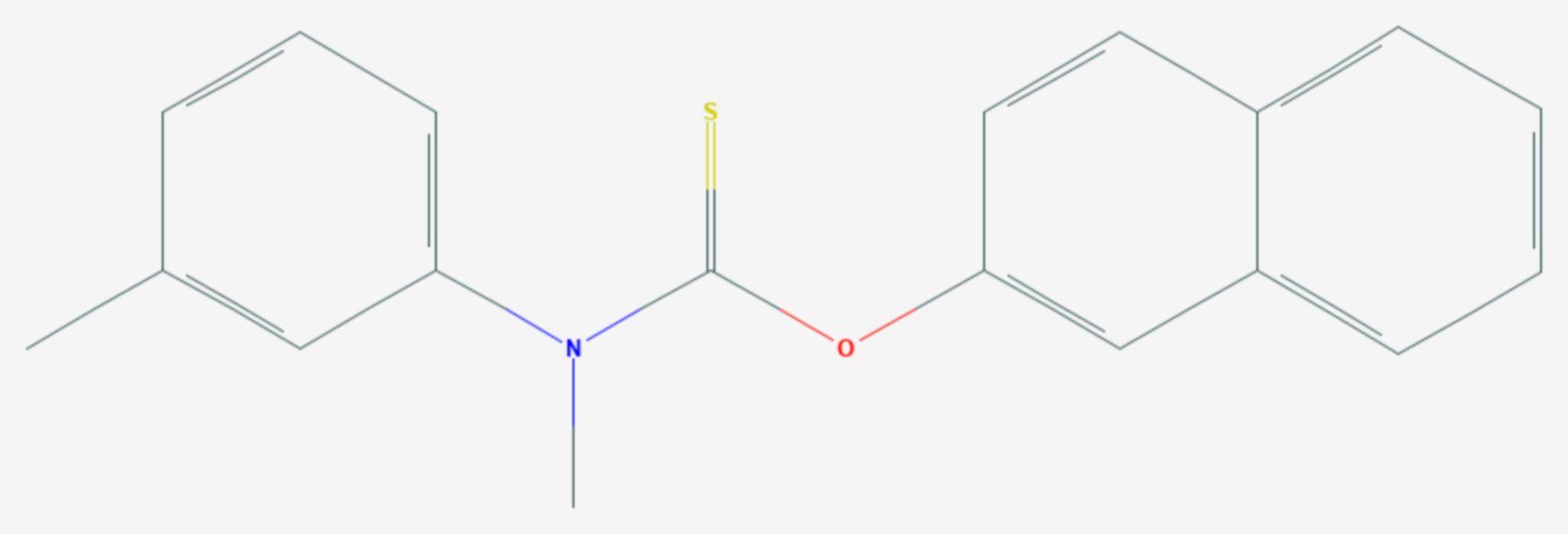 Tolnaftat (Strukturformel)