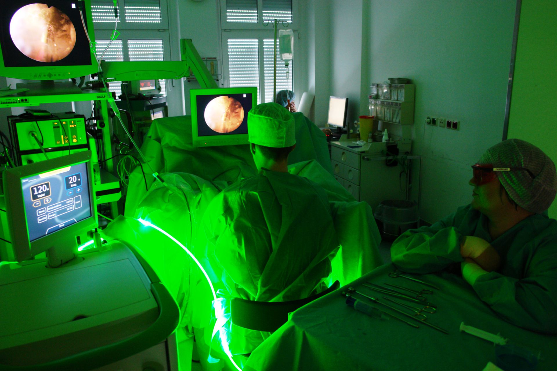Laser Greenlight