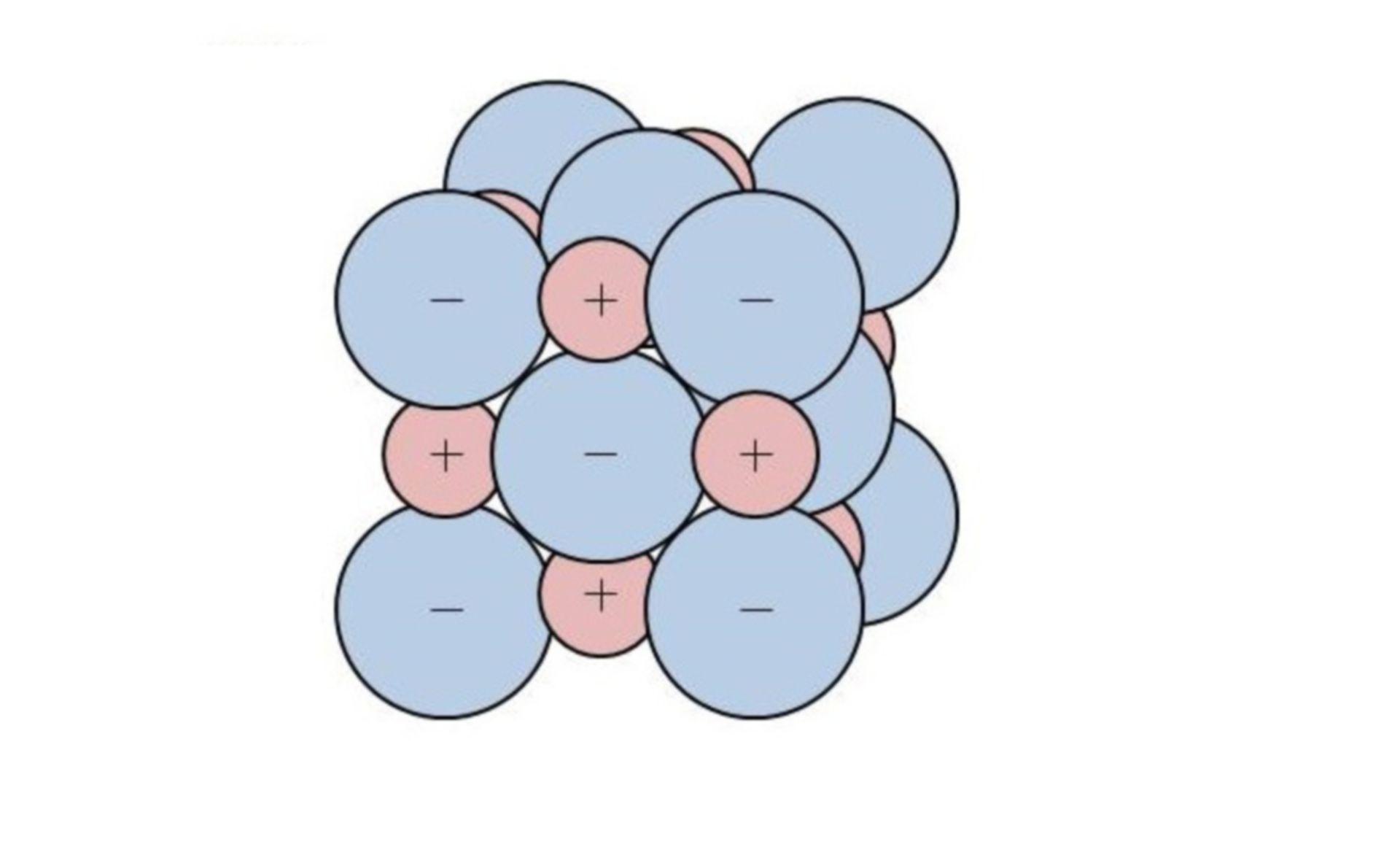 Ion lattice cutting of lithium fluoride