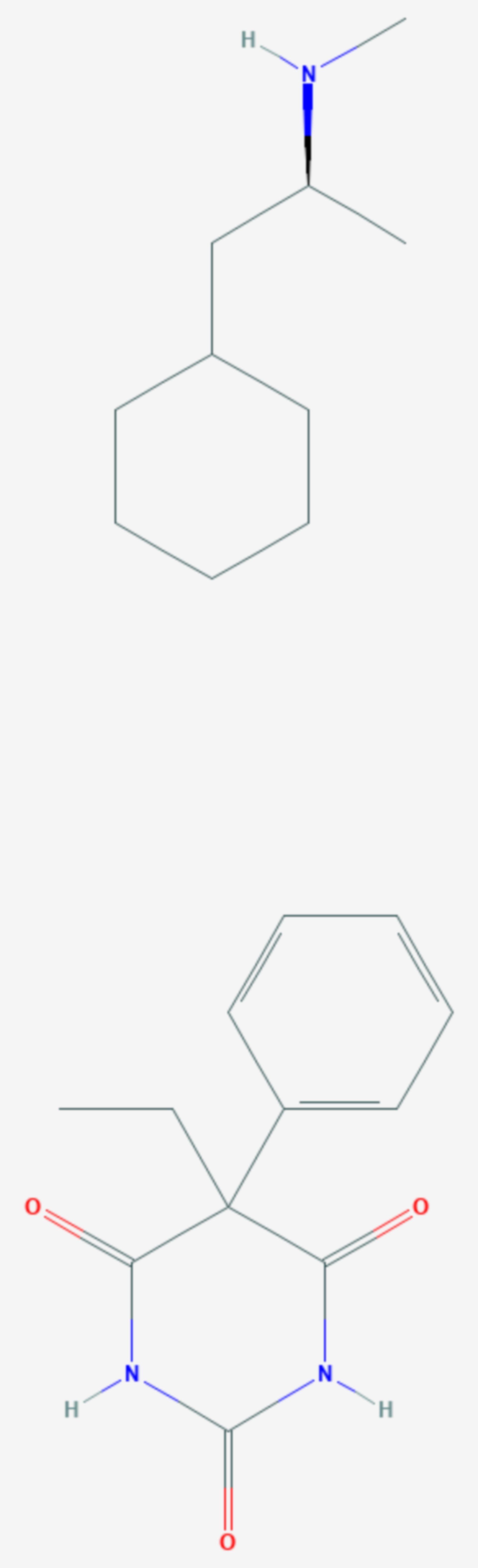 Barbexaclon (Strukturformel)