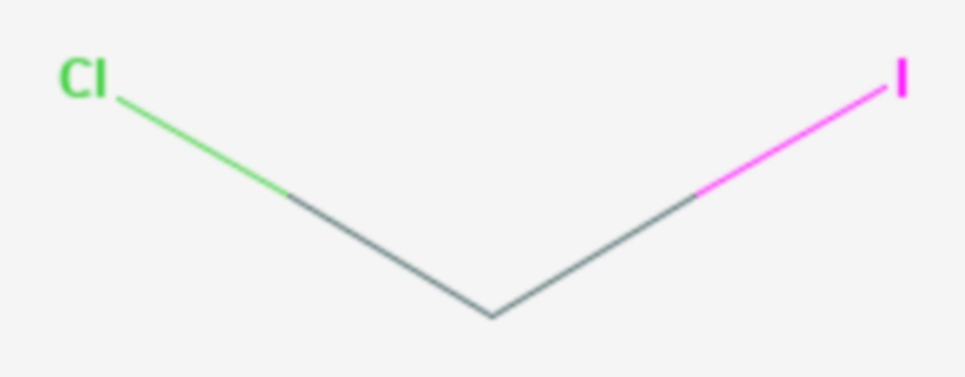 Chloriodmethan (Strukturformel)