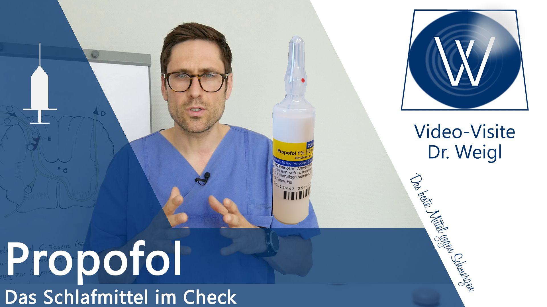 Propofol – Das Injektionshypnotikum Nr. 1 im Check