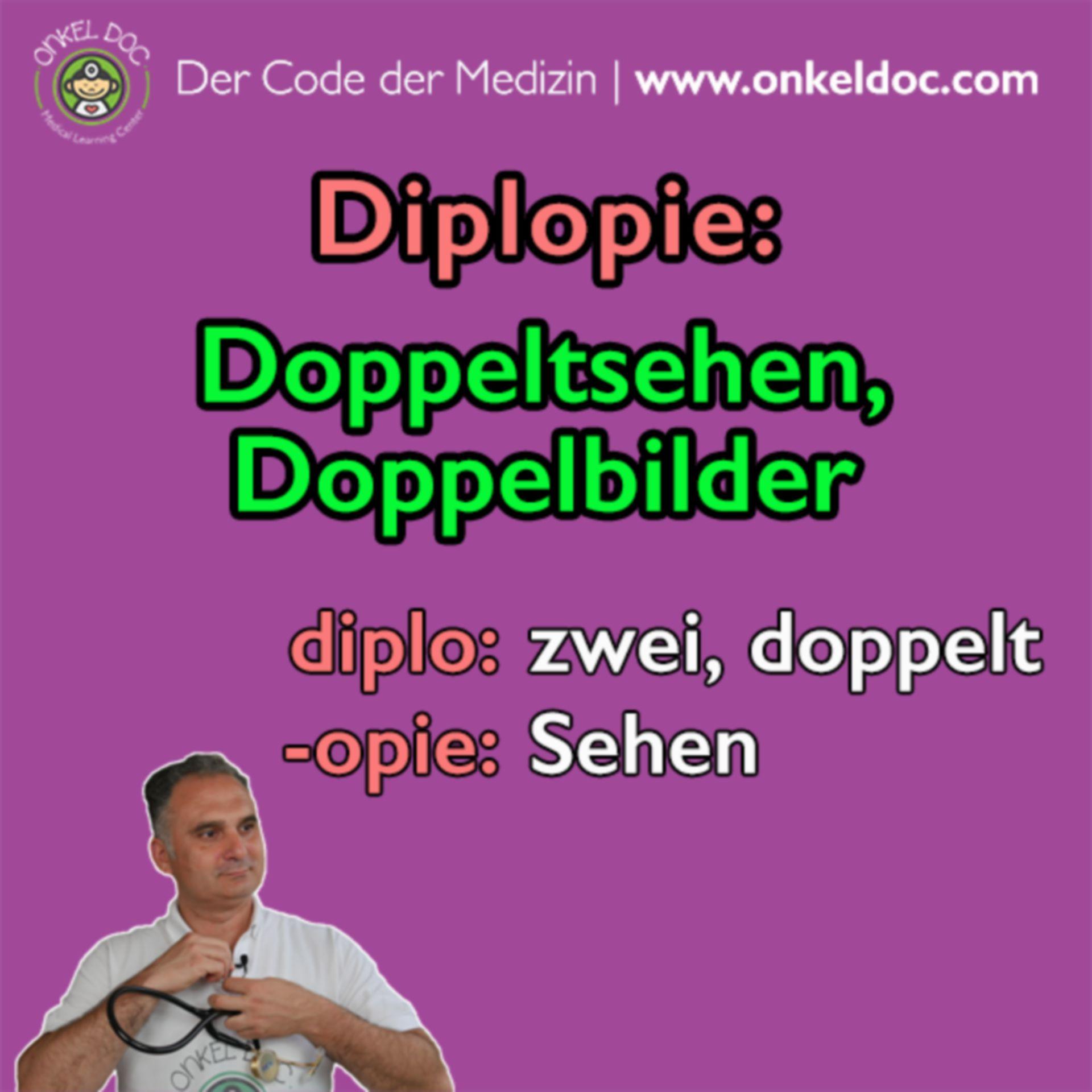 Der Code der Diplopie