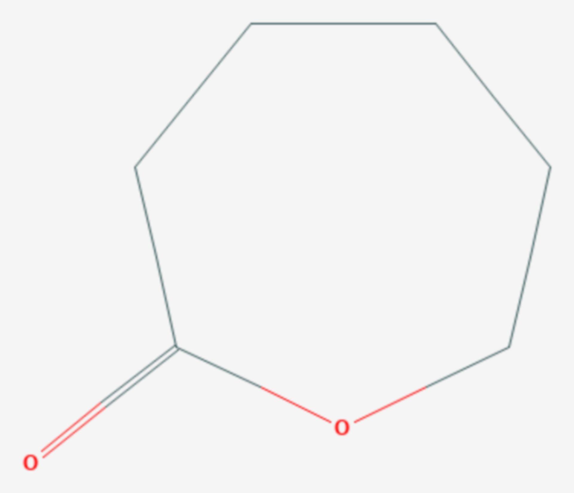 Ε-Caprolacton (Strukturformel)