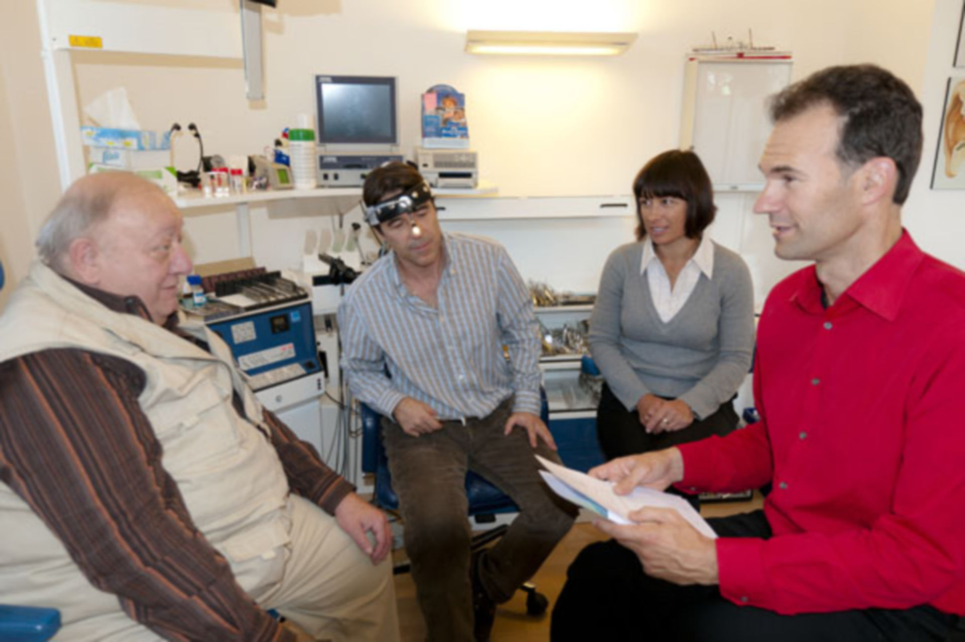 Patient mit CPAP-Gerät 3