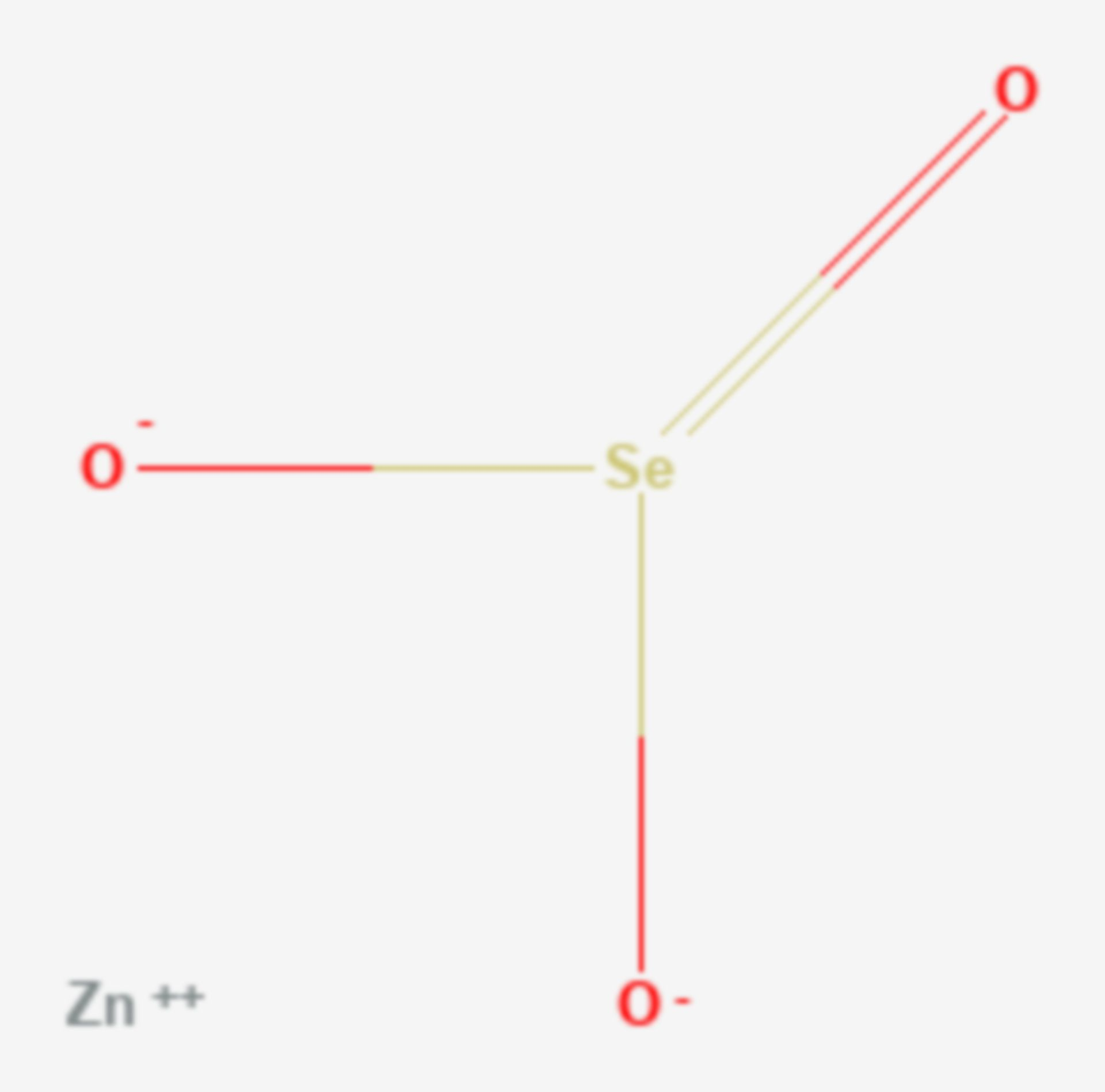 Zinkselenit (Strukturformel)