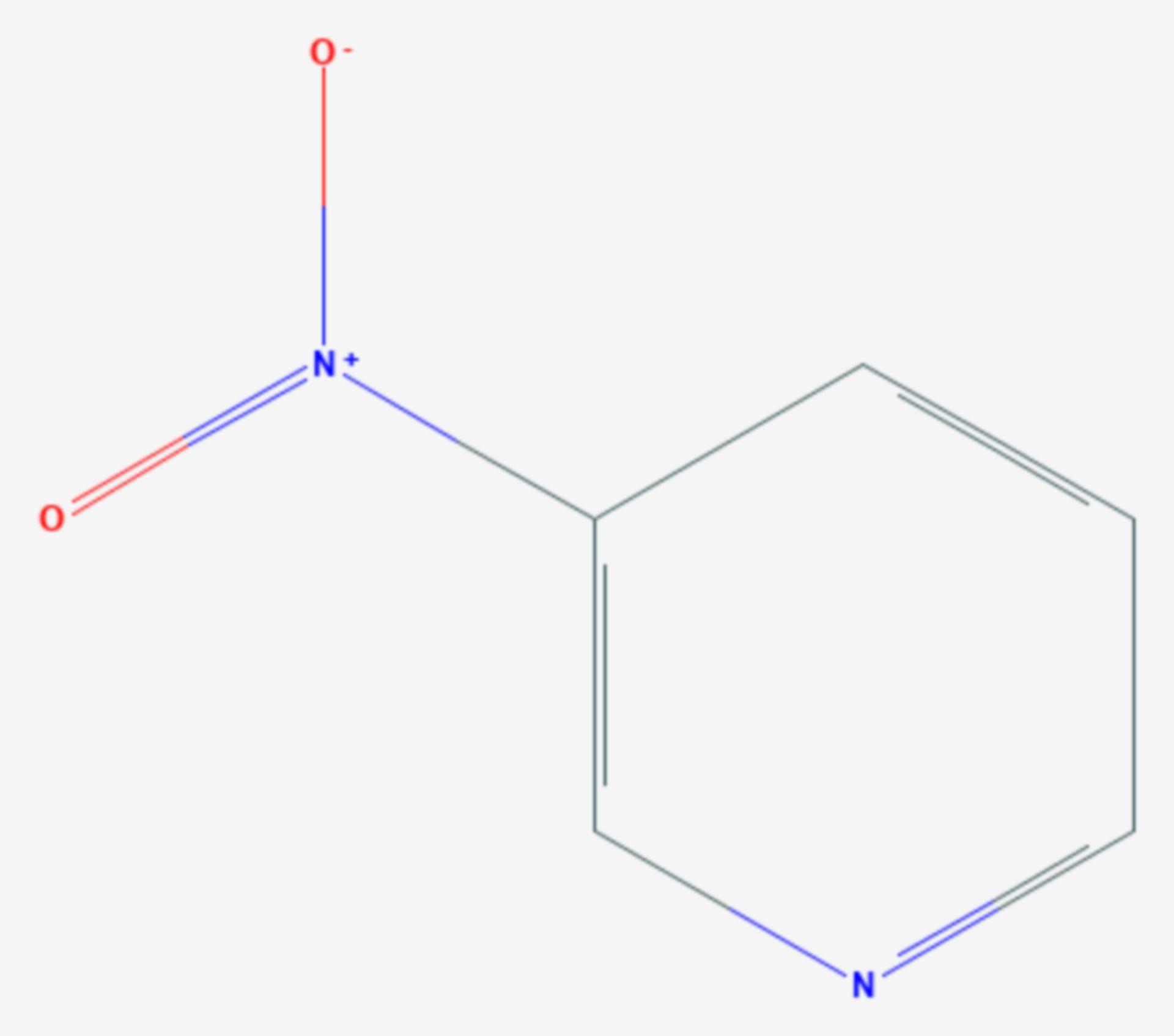 3-Nitropyridin (Strukturformel)