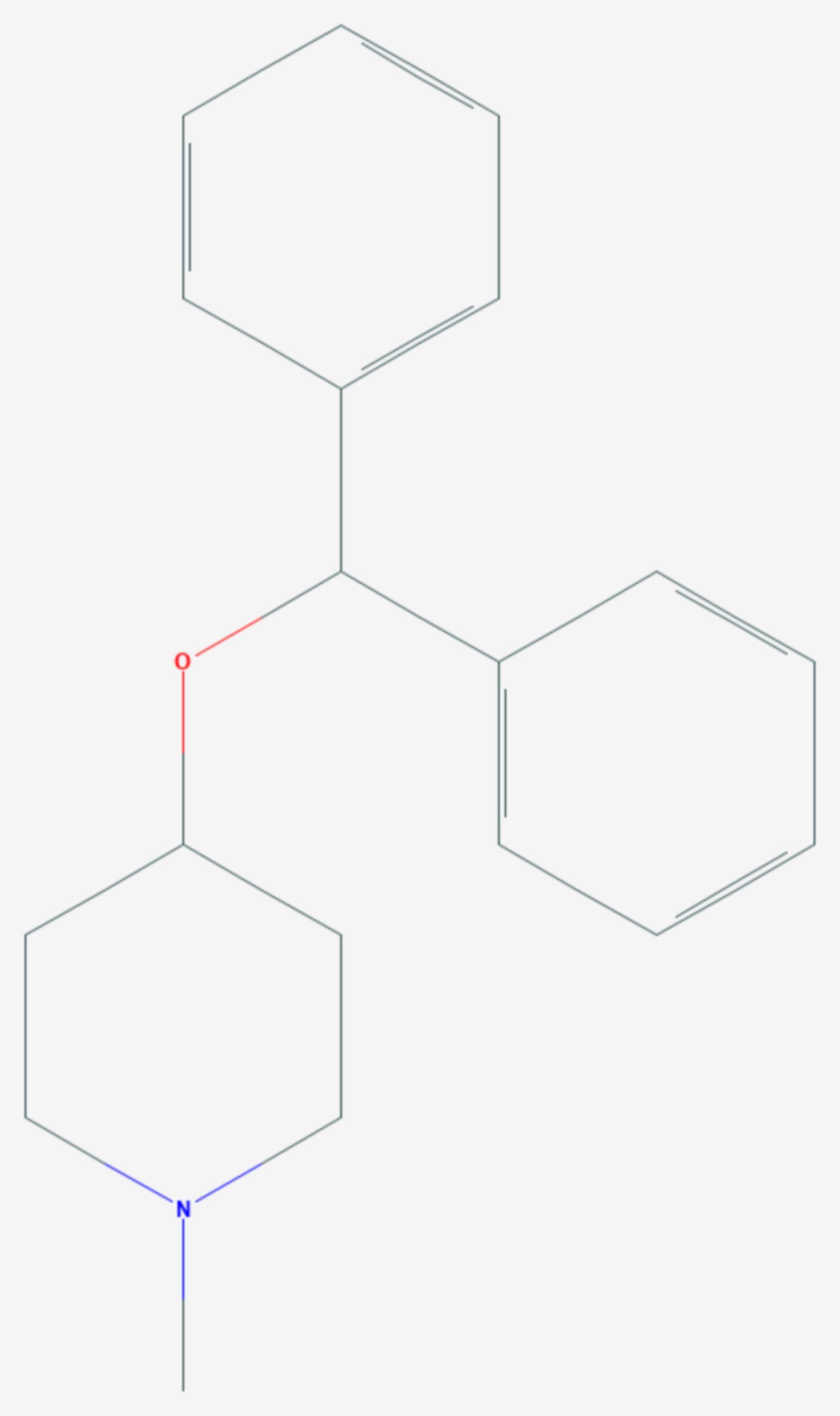 Diphenylpyralin (Strukturformel)