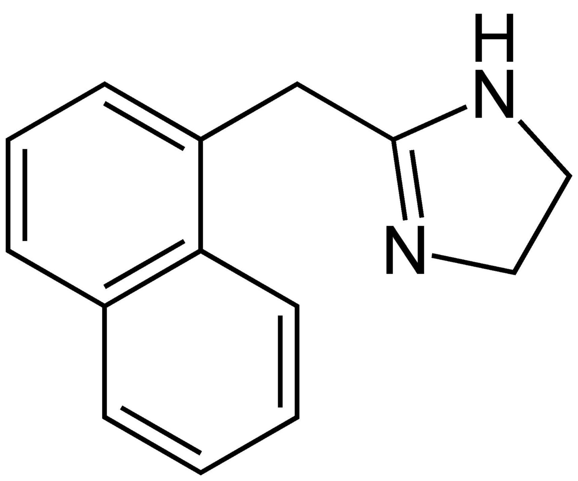 Naphazolin Strukturformel
