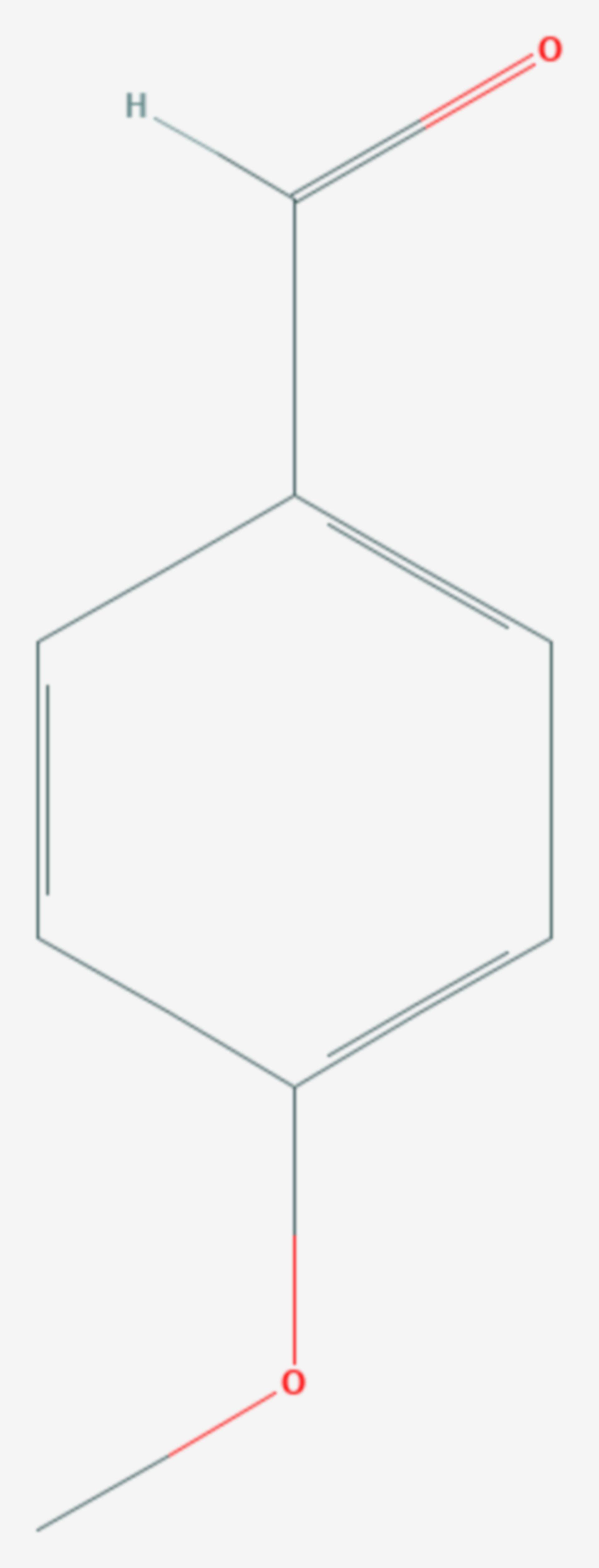Anisaldehyd (Strukturformel)