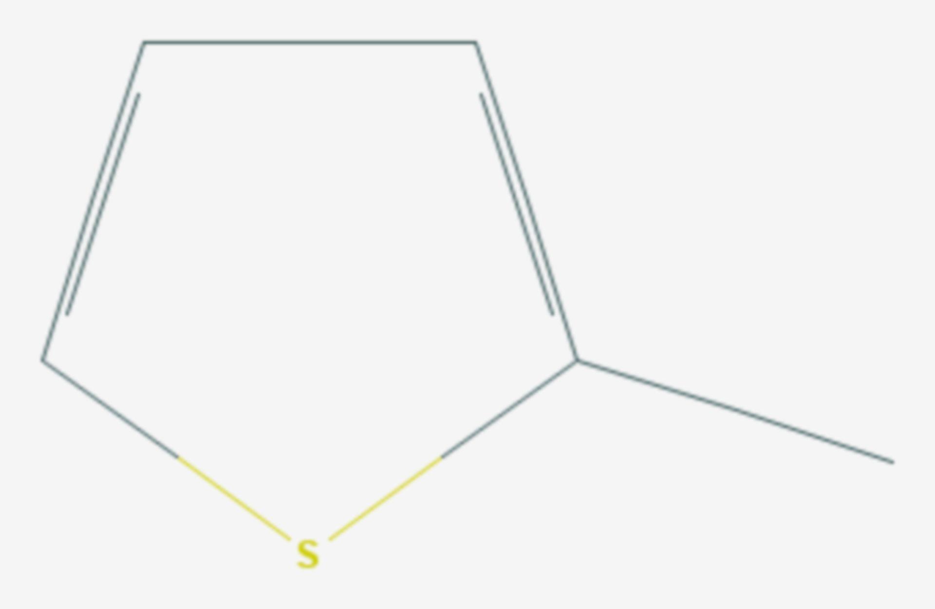 2-Methylthiophen (Strukturformel)