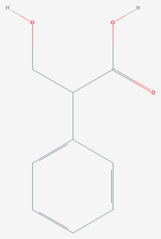 Tropasäure (Strukturformel)