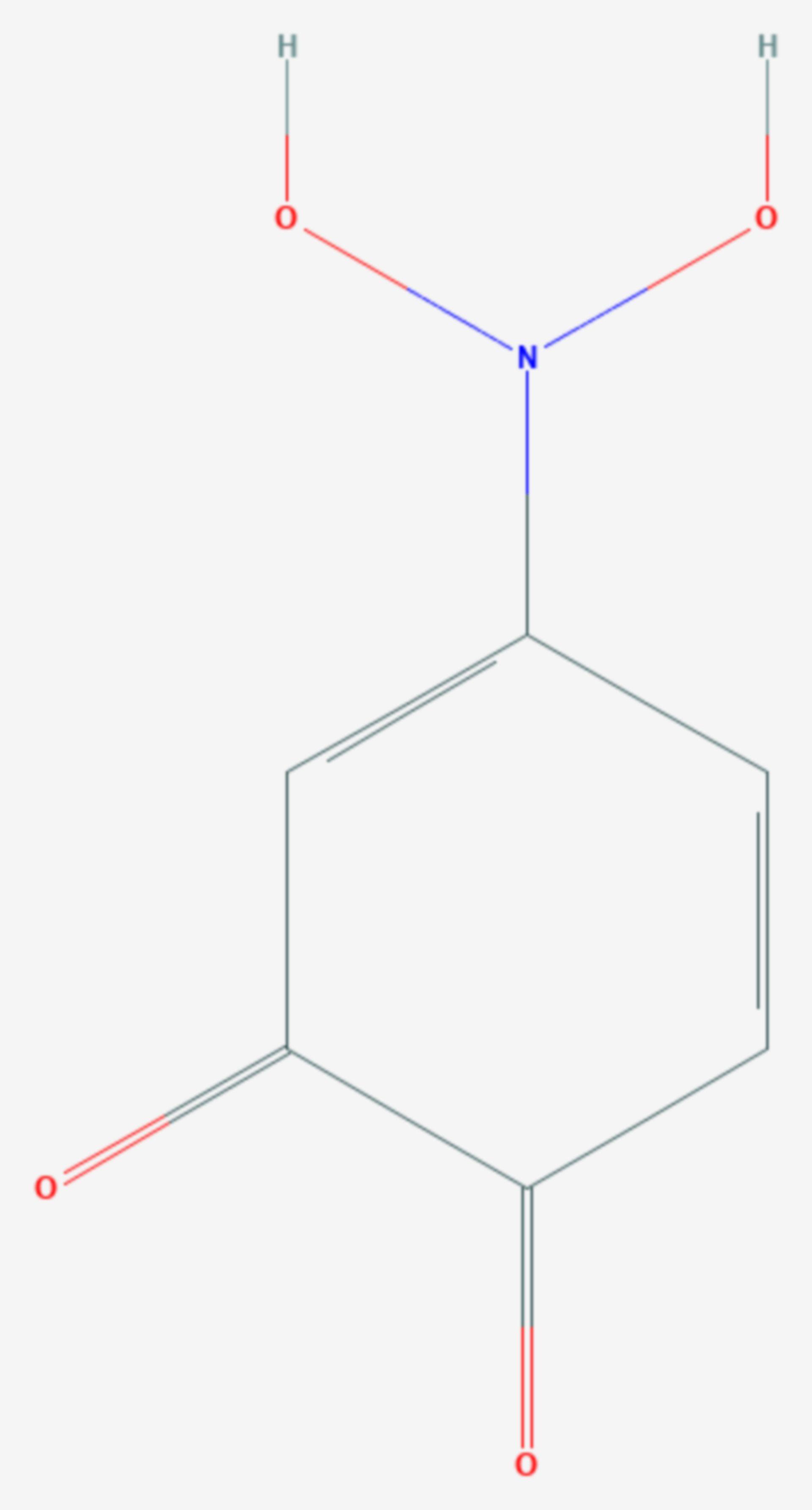 4-Nitrobrenzcatechin (Strukturformel)