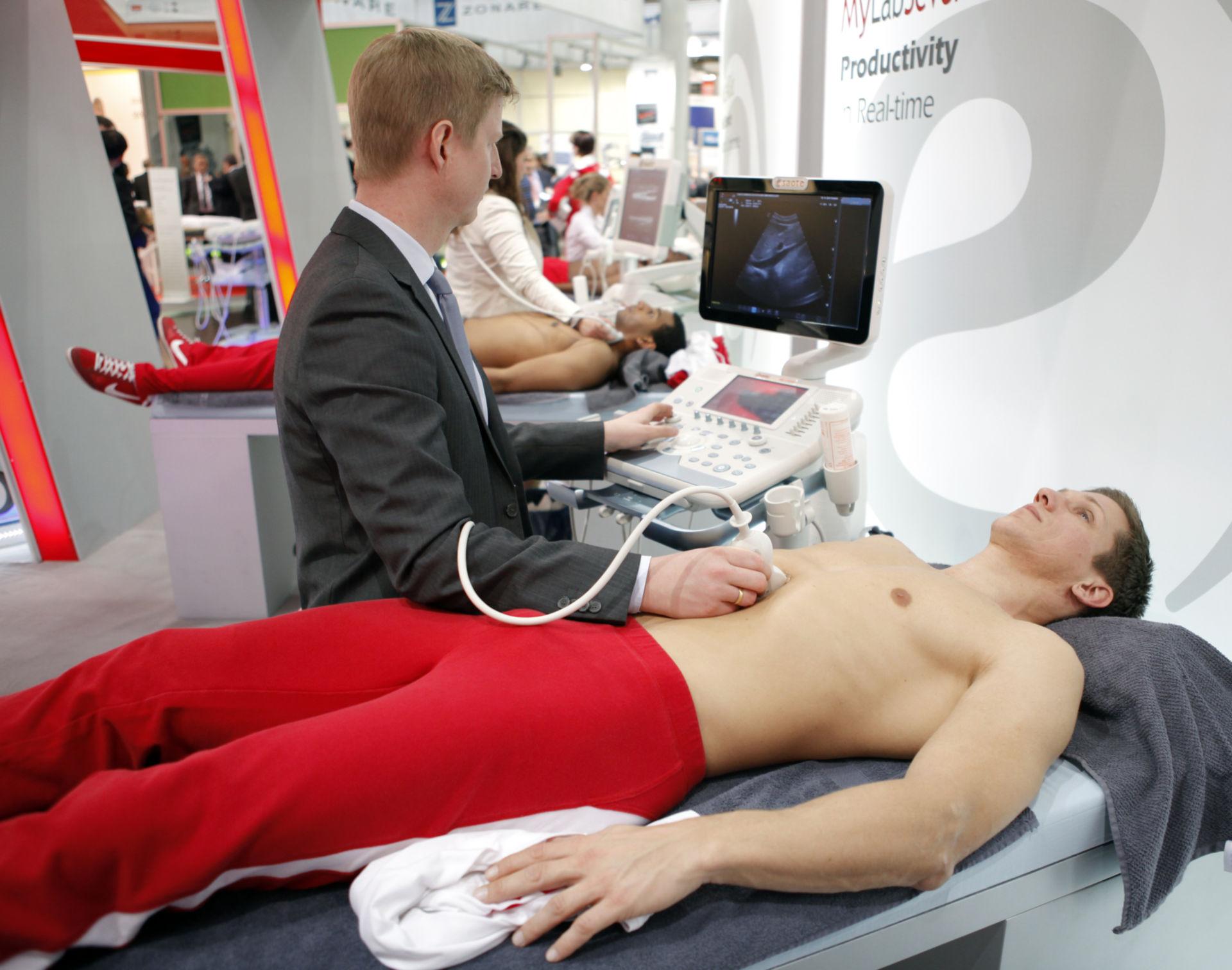 Ultrasound device (demonstration) - Sonography