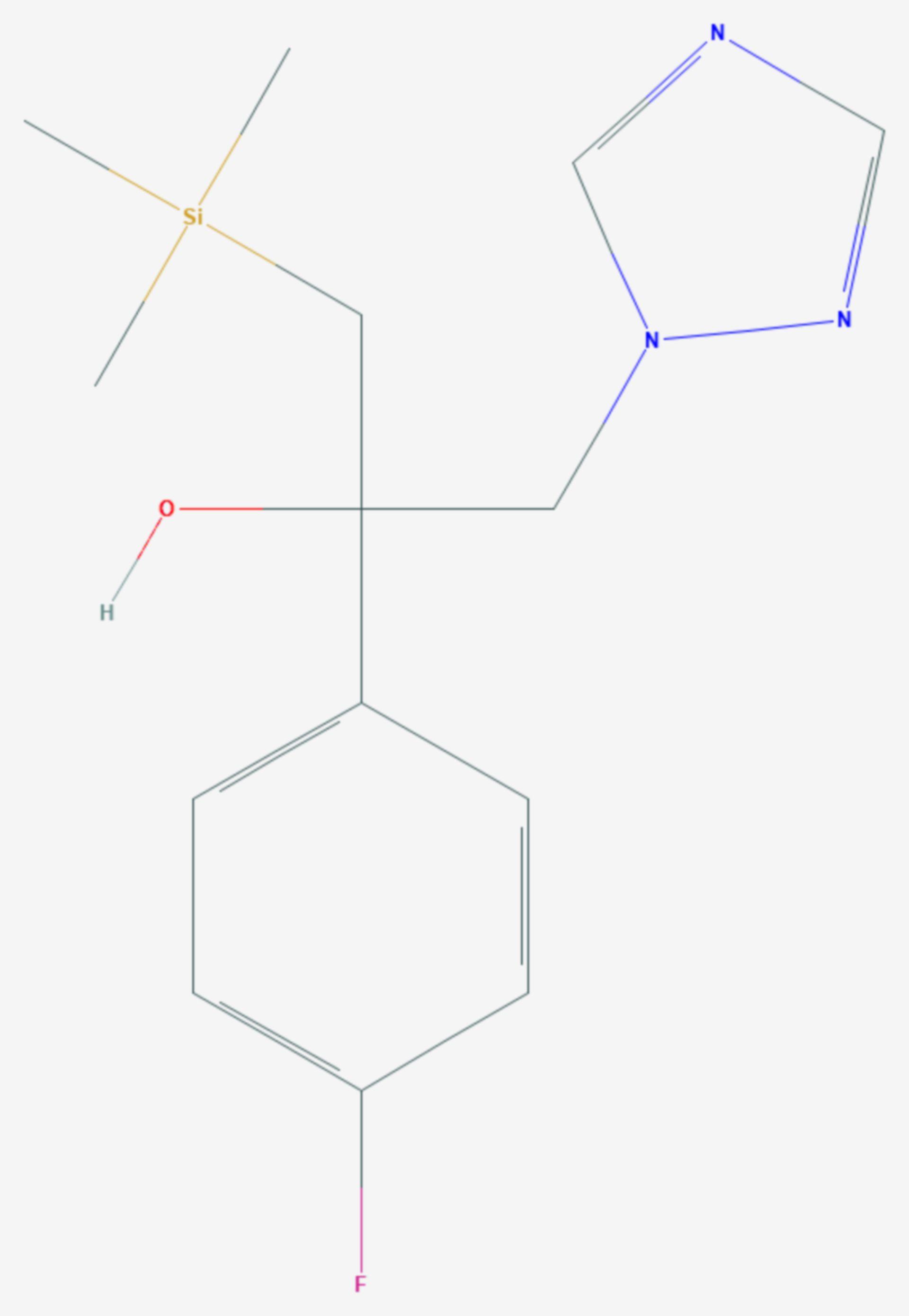 Simeconazol (Strukturformel)