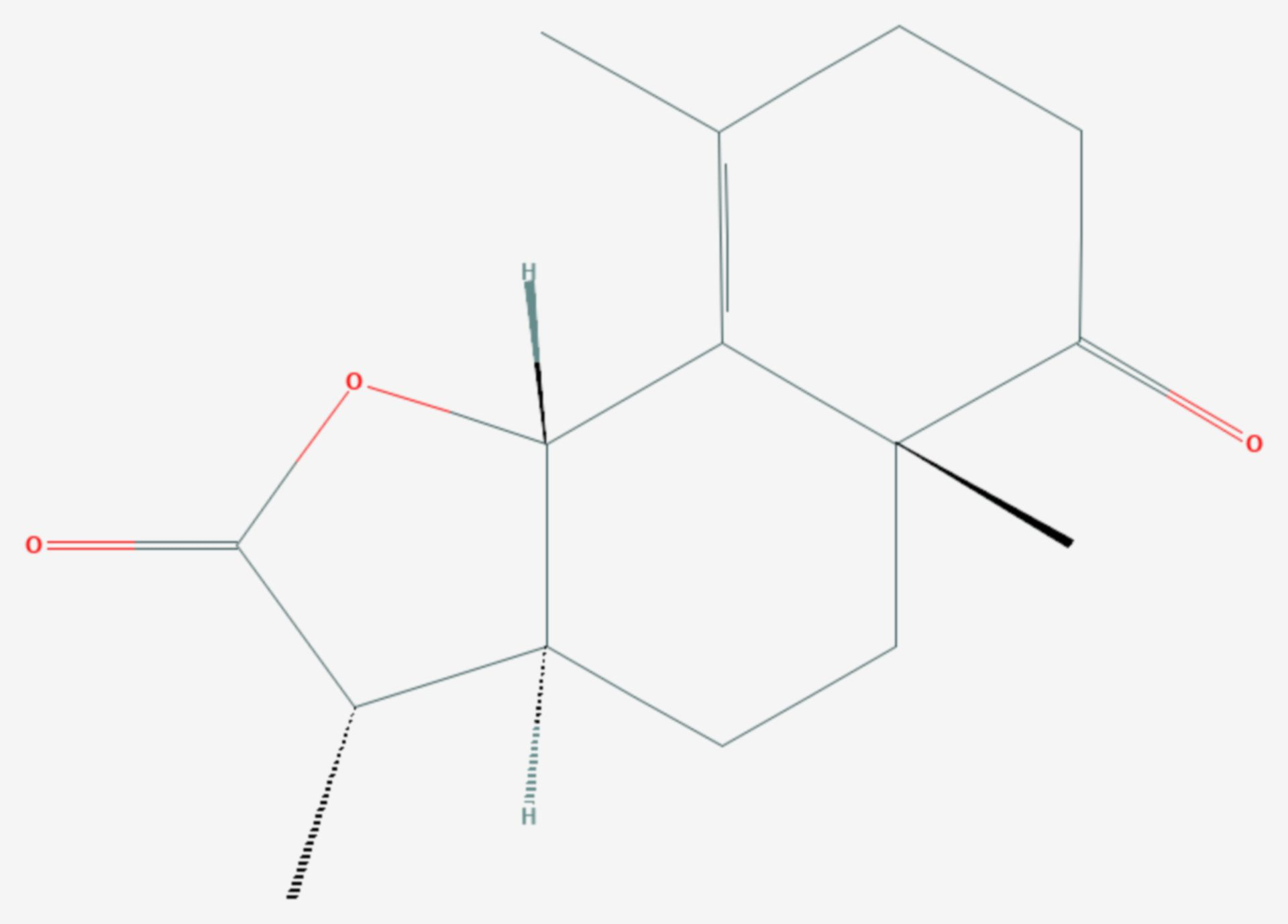 Gracilin (Strukturformel)