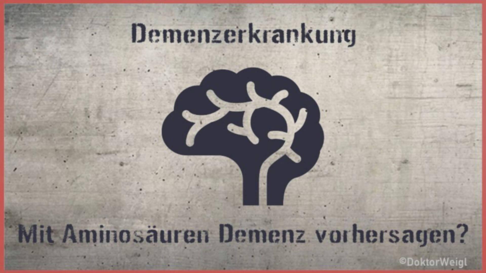 Demenzfrüherkennung – Helfen Aminosäuren Demenz vorherzusagen?