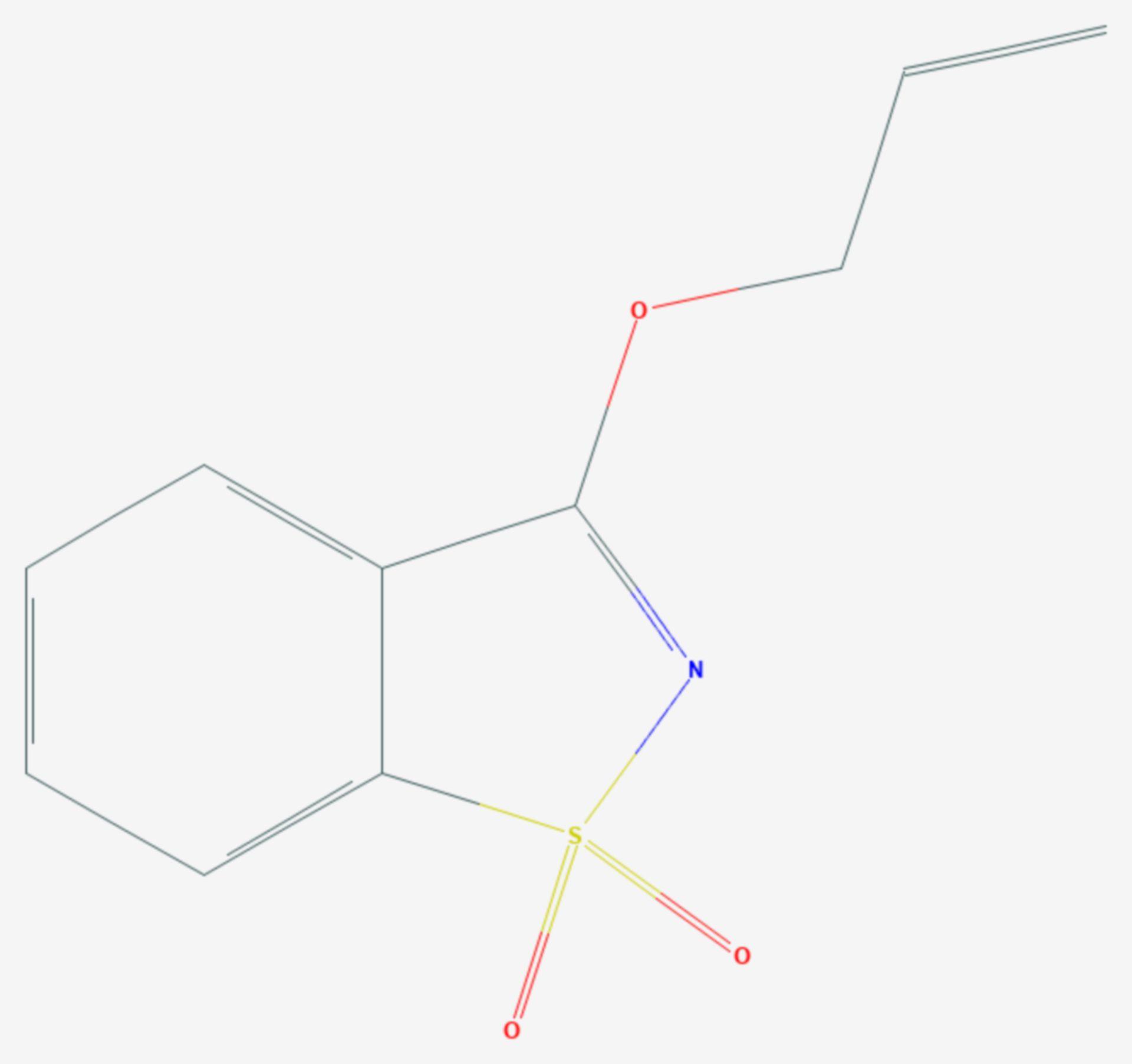 Probenazol (Strukturformel)