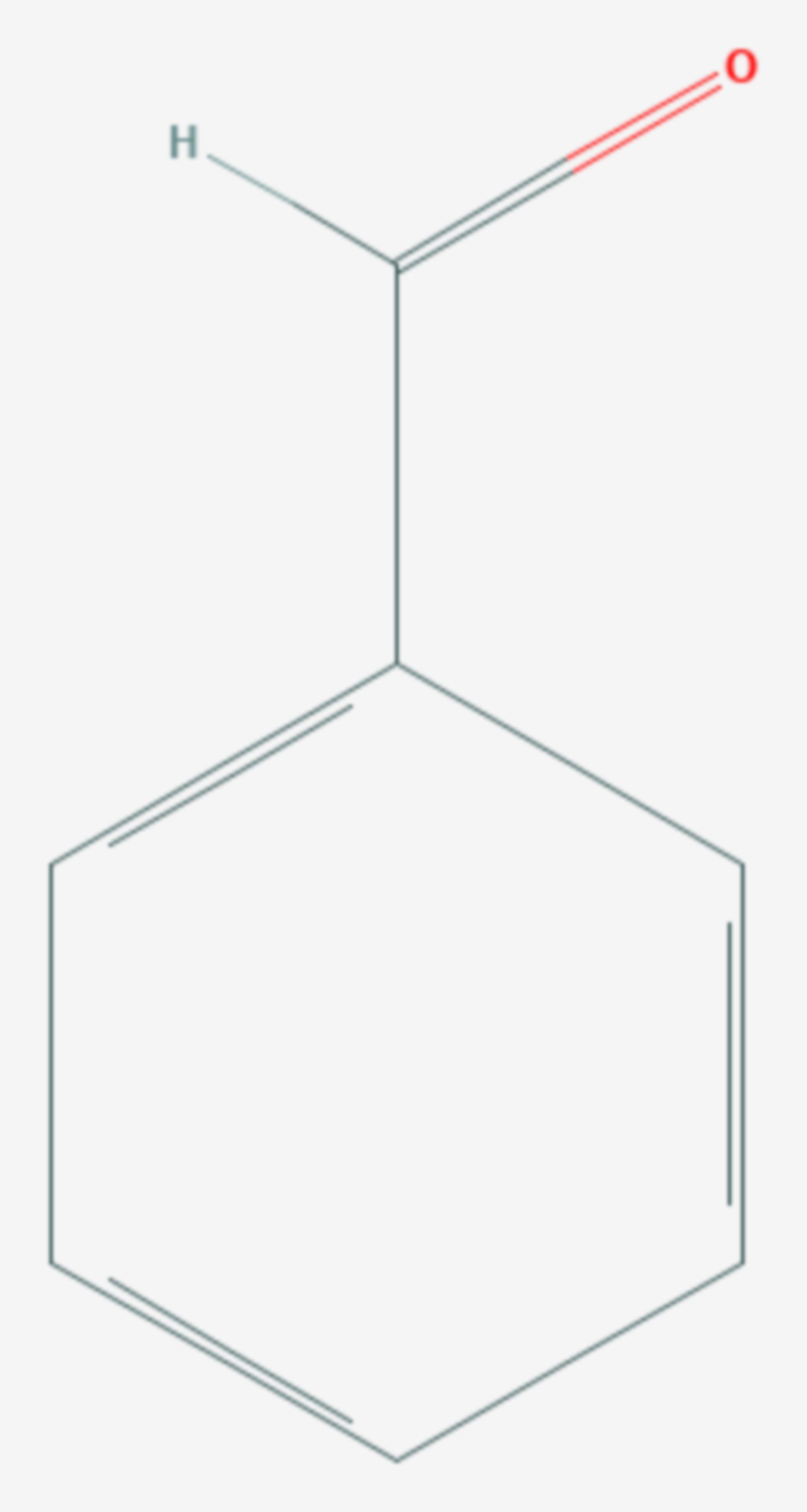 Benzaldehyd (Strukturformel)