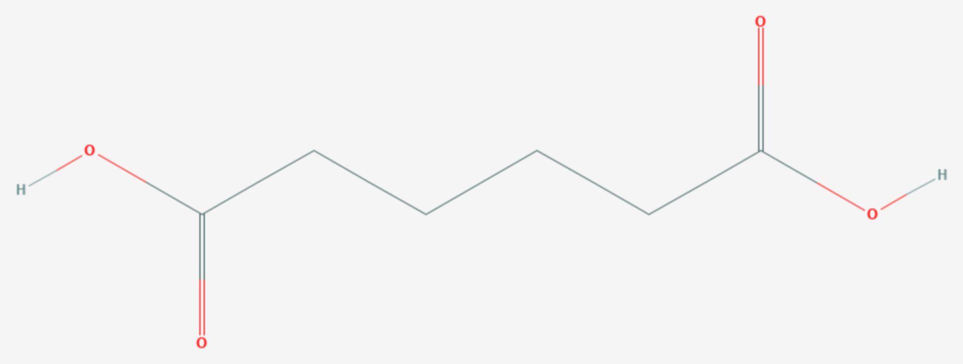 Adipinsäure (Strukturformel)