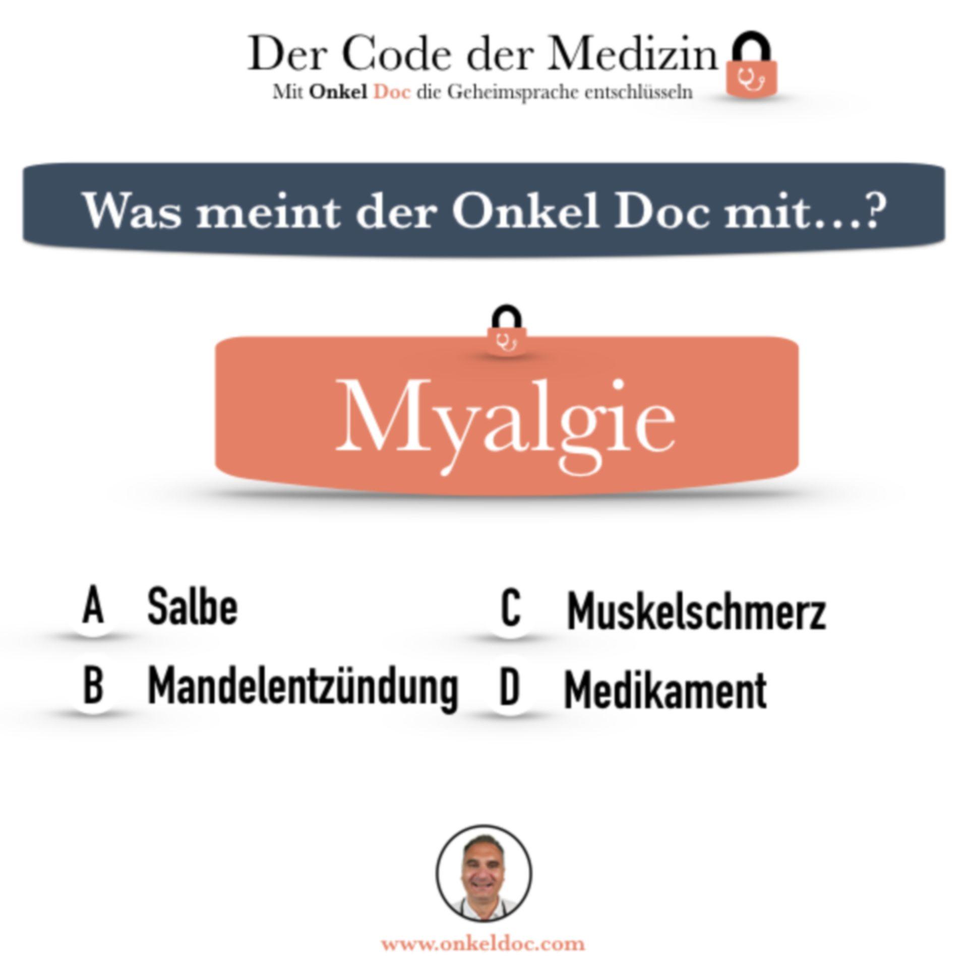 Frage zum Code Myalgie