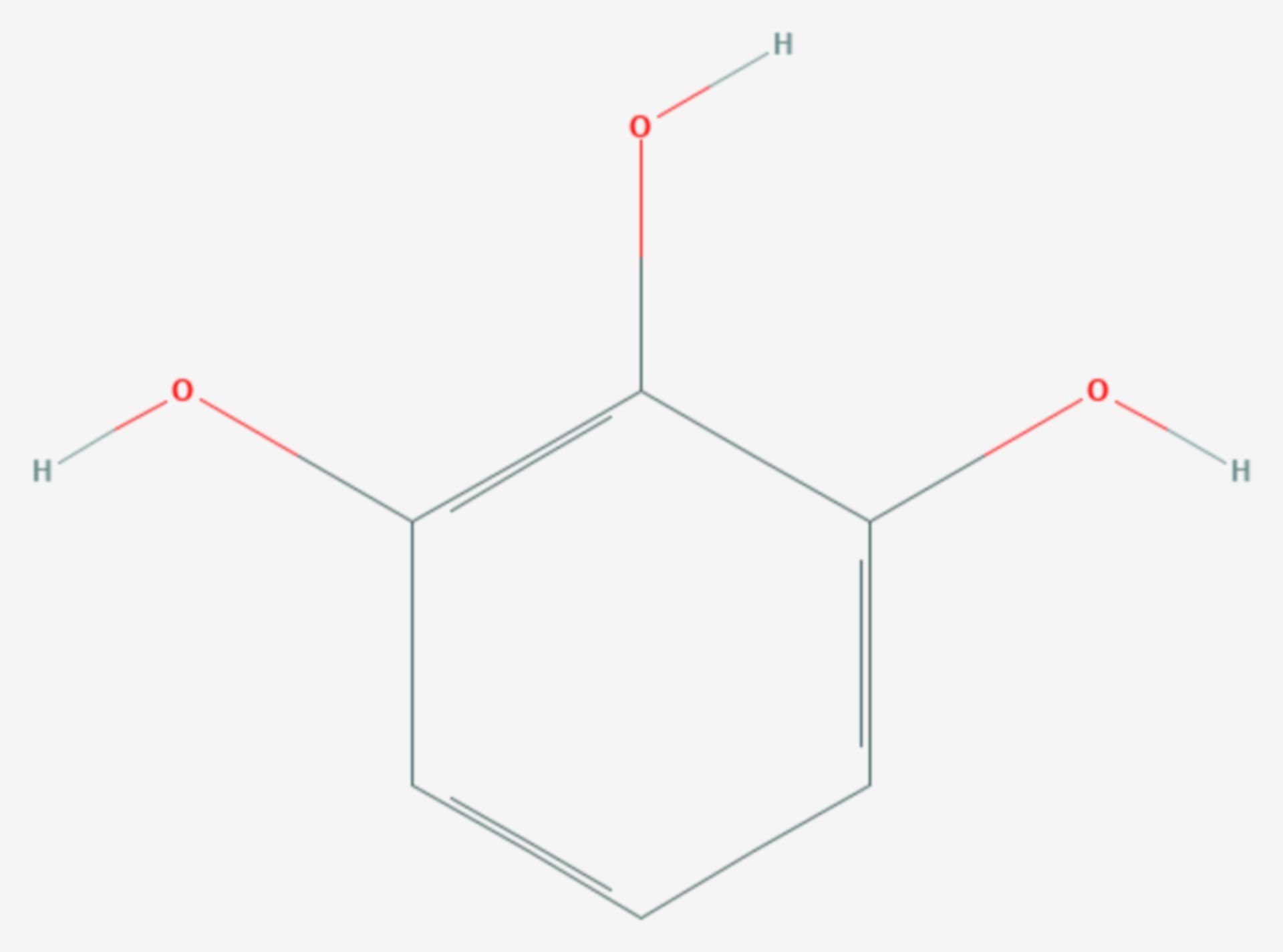 Pyrogallol (Strukturformel)
