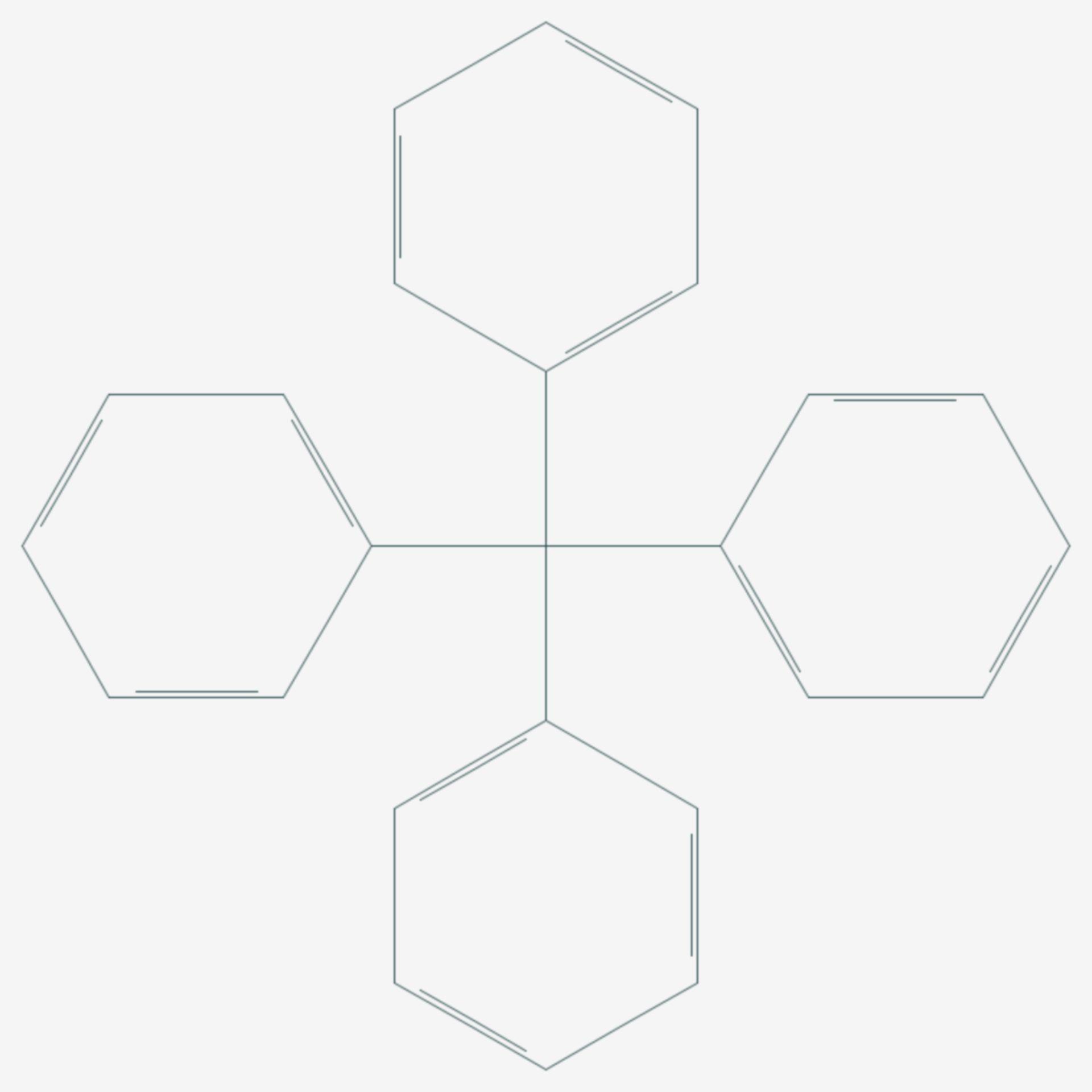 Tetraphenylmethan (Strukturformel)