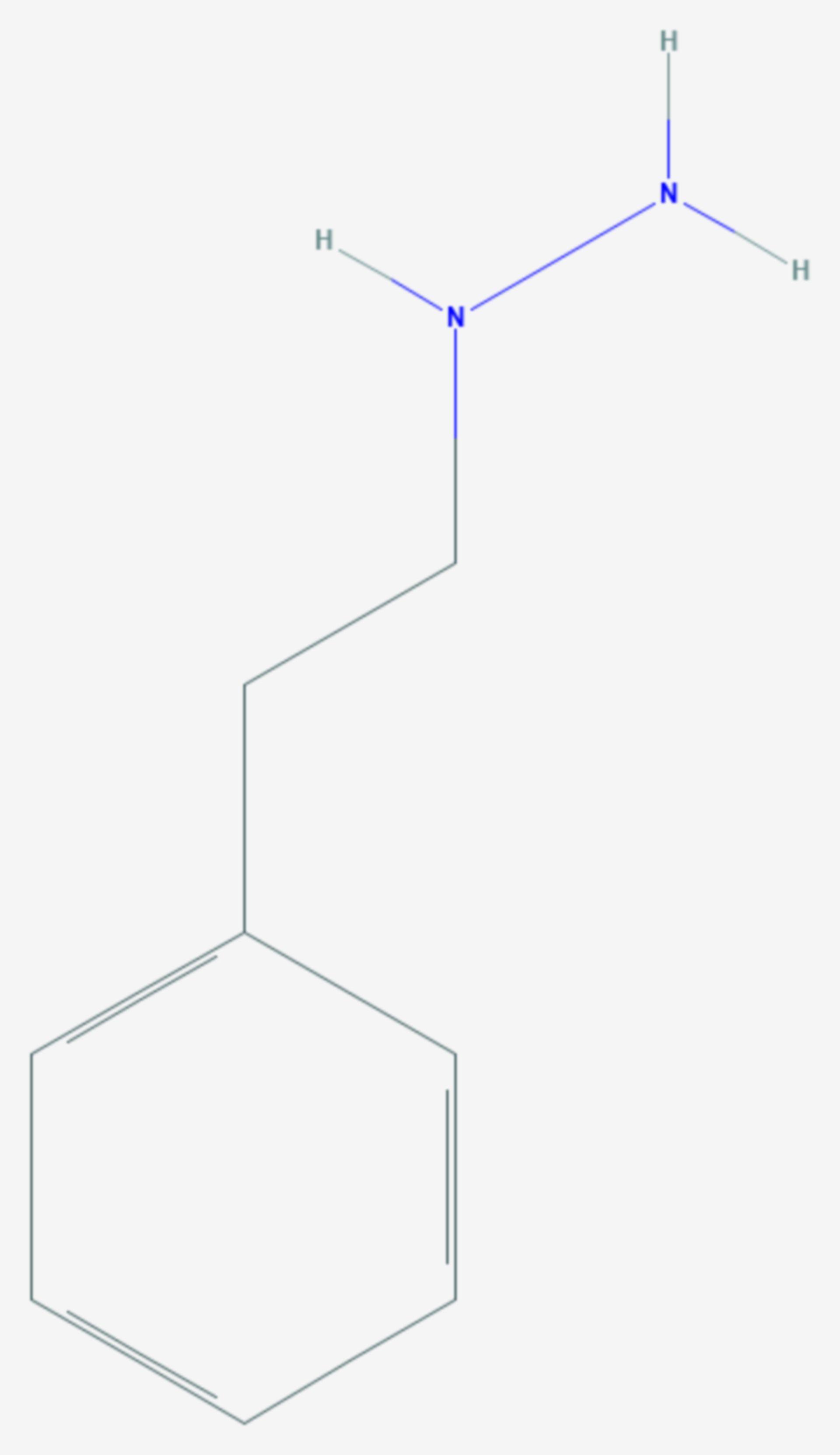 Phenelzin (Strukturformel)